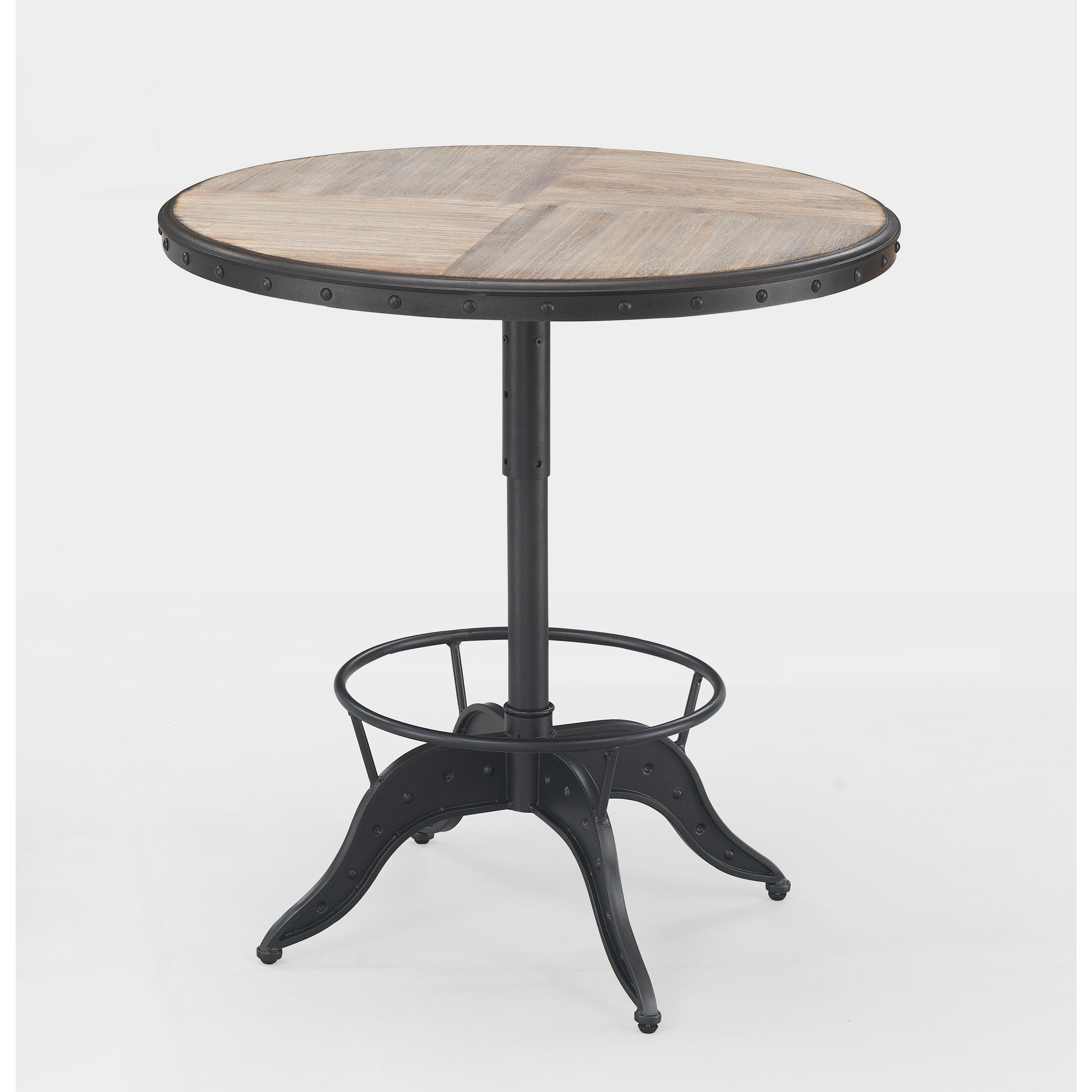 Shop Aislyn Adjustable Height Pub Table By Greyson Living On Sale