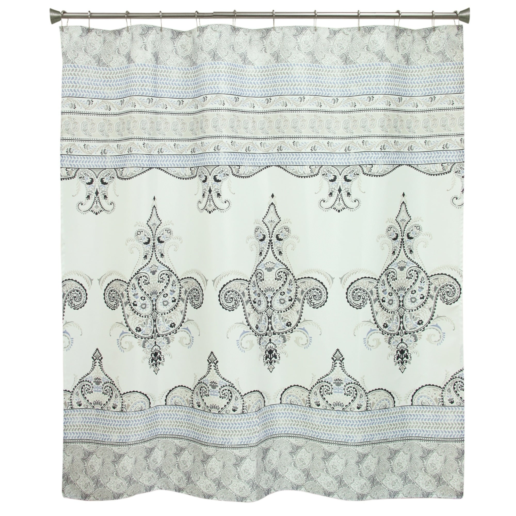 Shop Willow Shower Curtain By Bacova