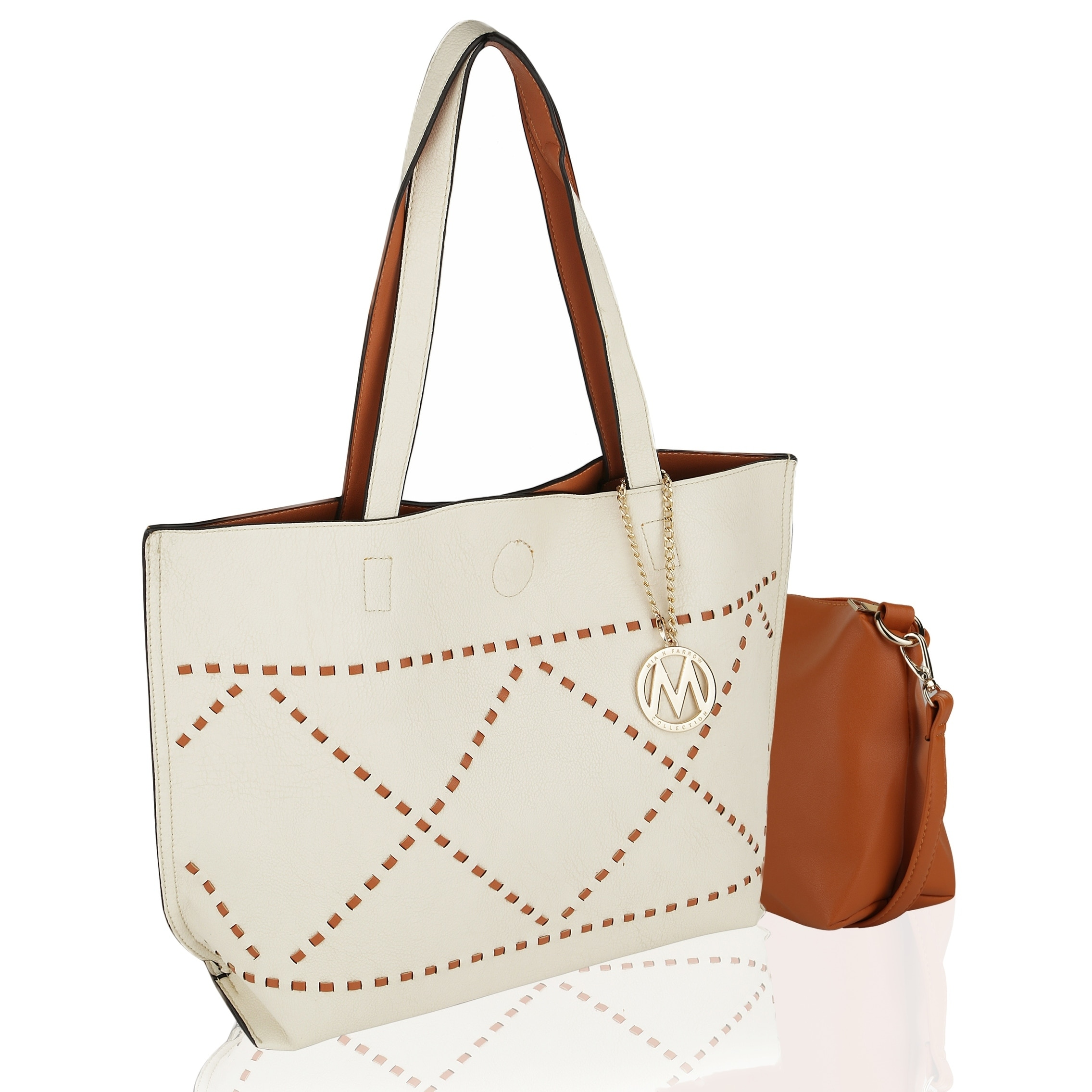 8b8d1c30cfc0 Shop MKF Collection by Mia K Farrow Delly Tote Shoulder Bag - On Sale - Free  Shipping On Orders Over $45 - Overstock - 20978986