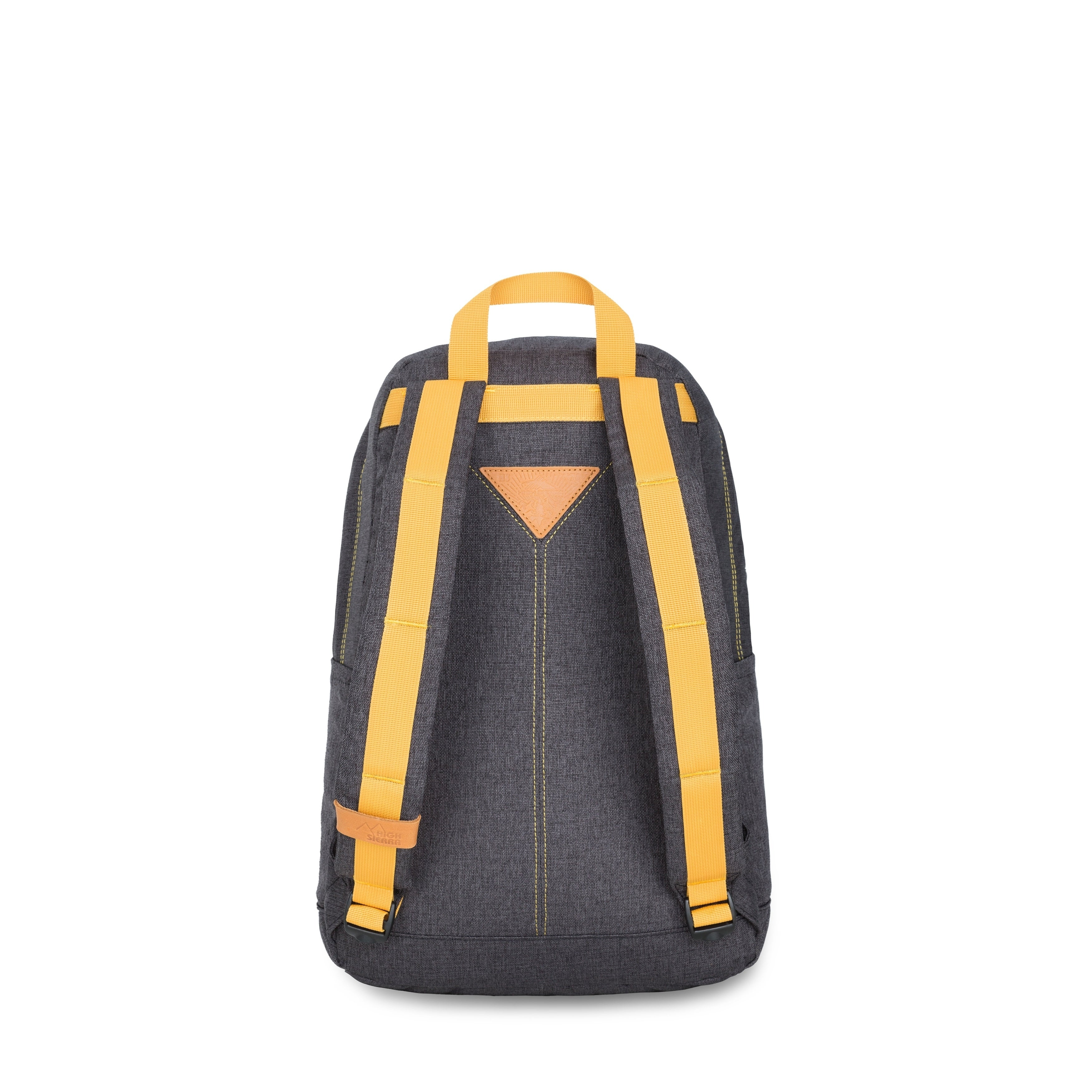 High Sierra Tear Drop Backpack, Black/Gold