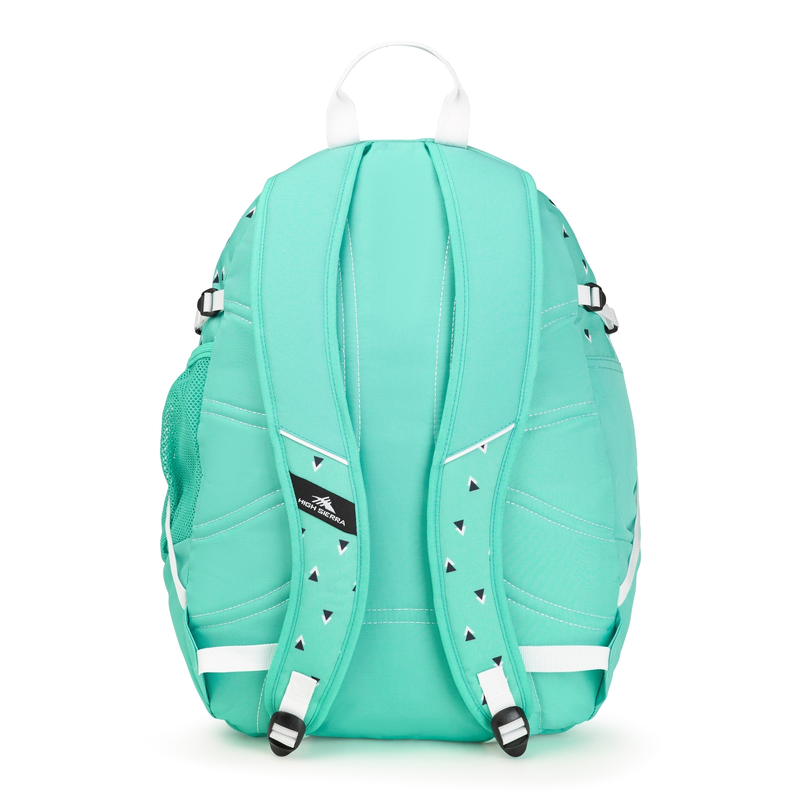 24aa5f987 Shop High Sierra Fatboy Backpack, Tri Geo/Aquamarine/White - Free ...