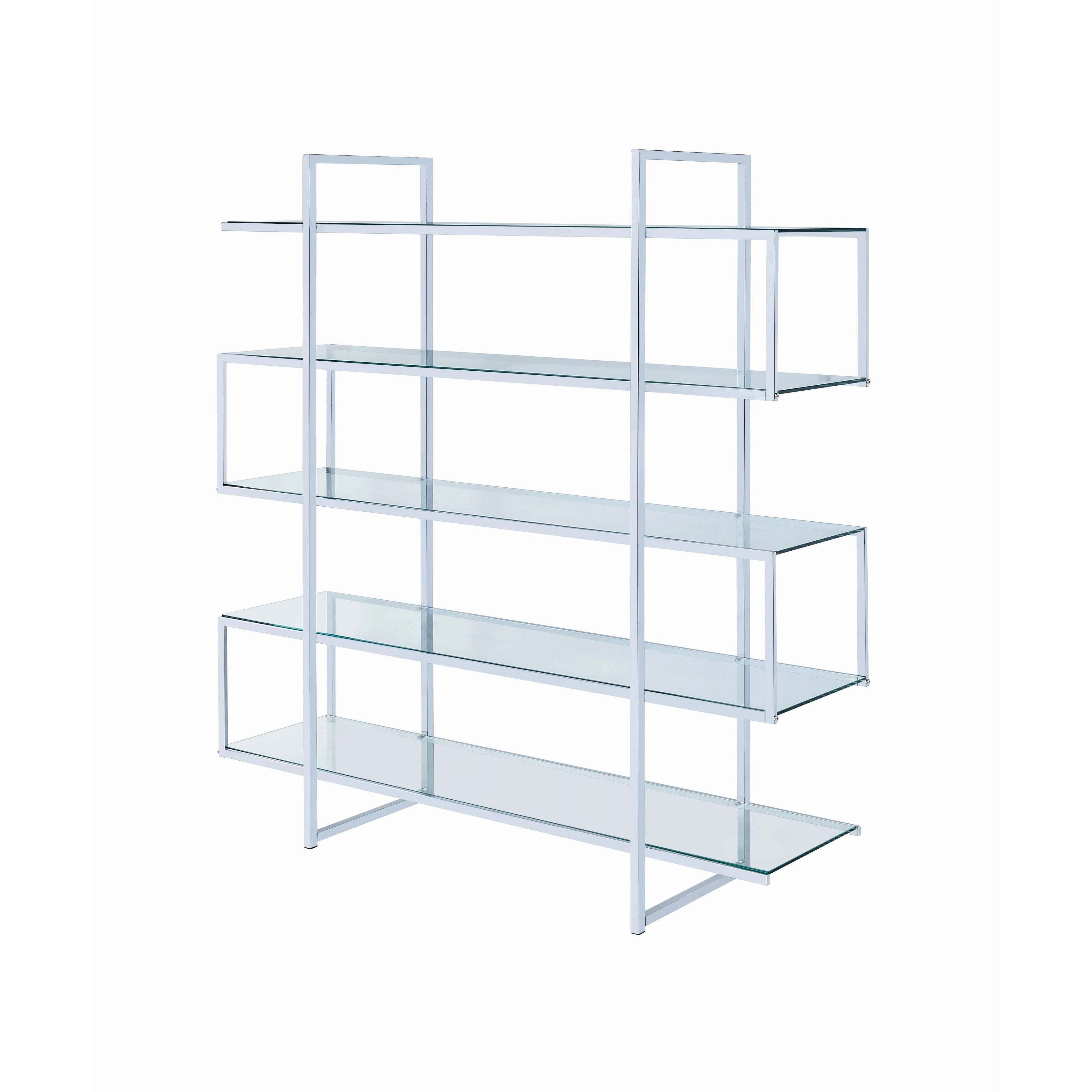 on wood by metal pin pinterest shelf bookcase bookcases shelving glass and design shelves
