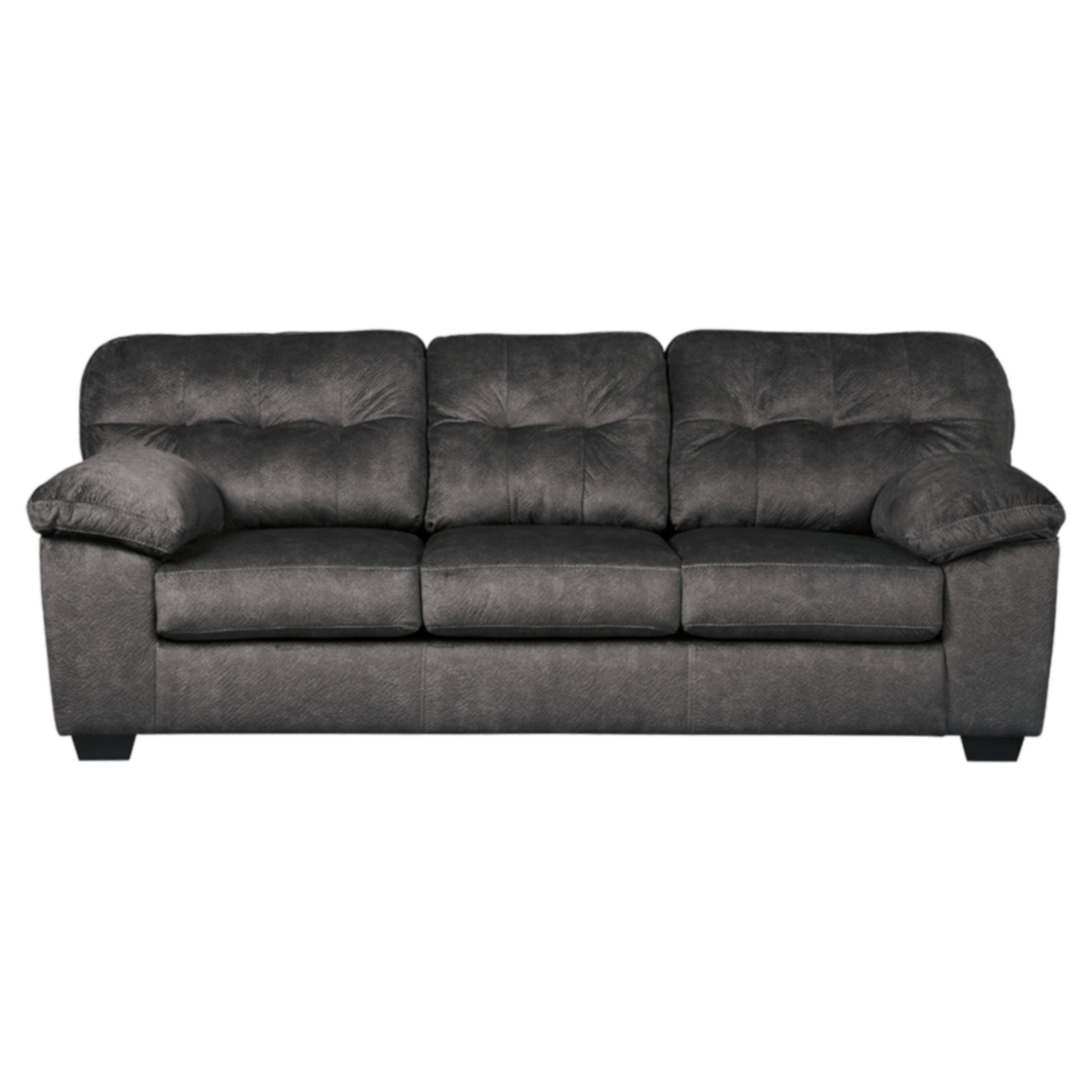 Signature Design By Ashley Accrington Contemporary Granite Fabric Upholstered Queen Size Sofa Sleeper