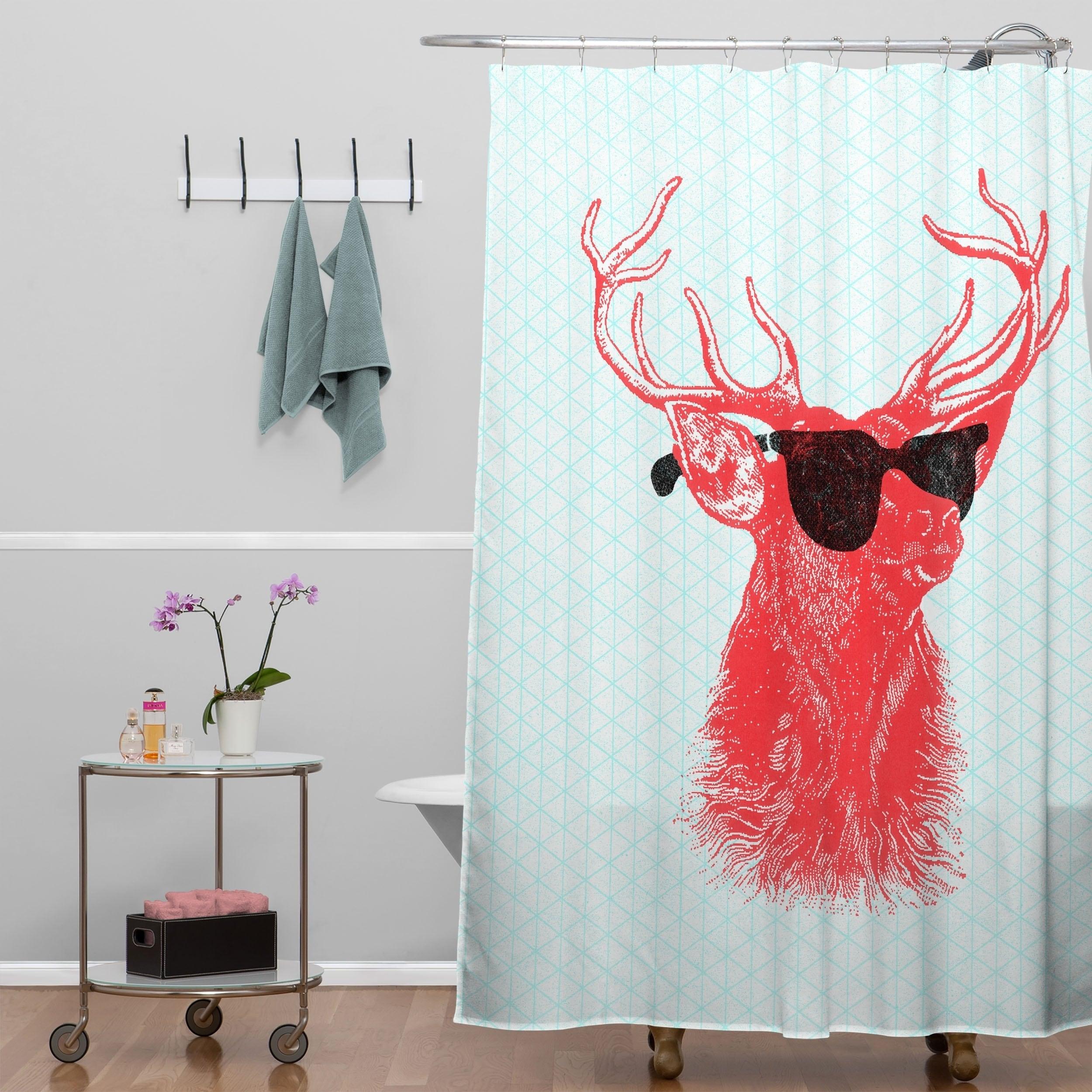 Shop Nick Nelson Young Buck Shower Curtain