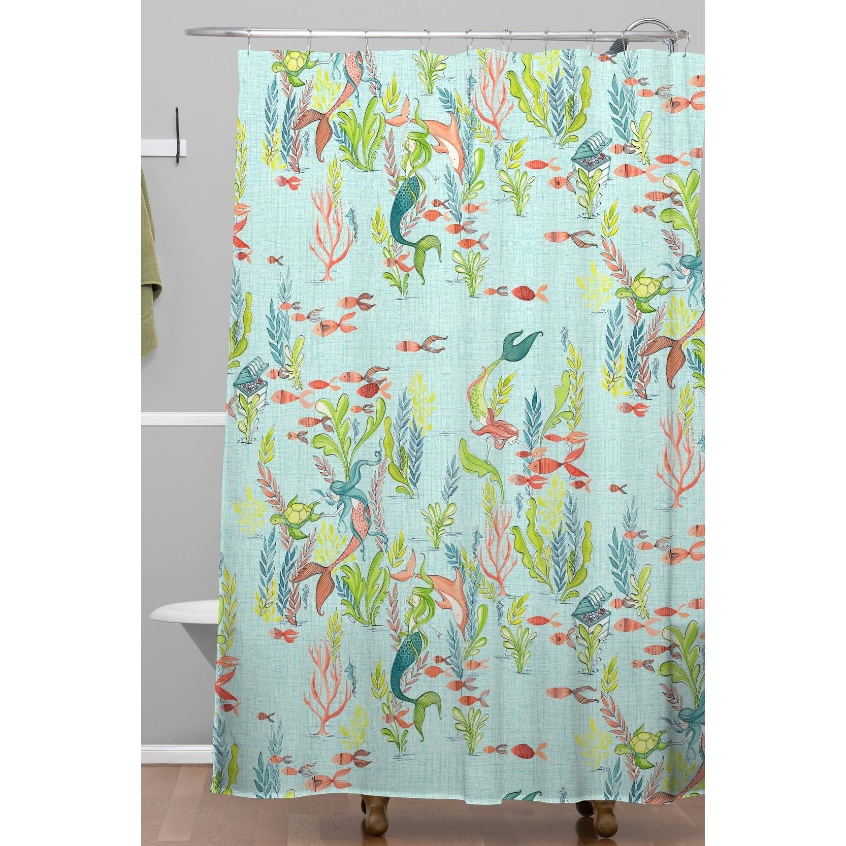 Cori Dantini The Mermaids Tale Shower Curtain On Free Shipping Today 21013667