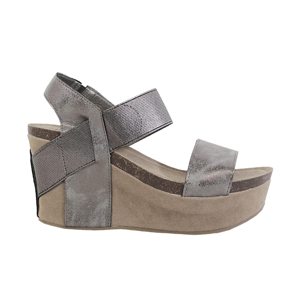 a9fab73f427f Shop YOKI-HESTRY-women s strap footbed wedge - Free Shipping On Orders Over   45 - Overstock - 21022955