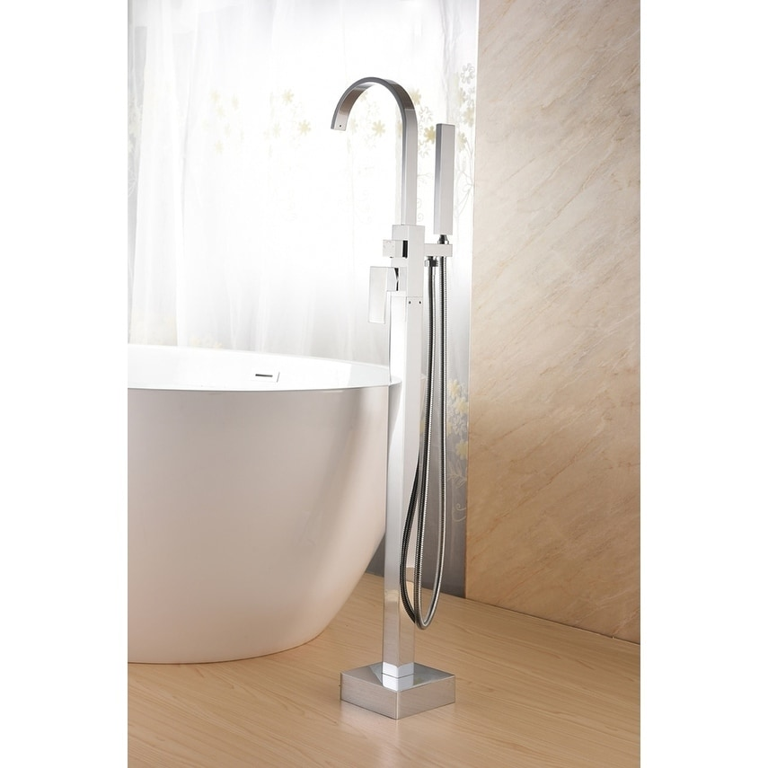 SevenFalls 8018 Freestanding Bathtub Faucet with Hand Shower - Free ...