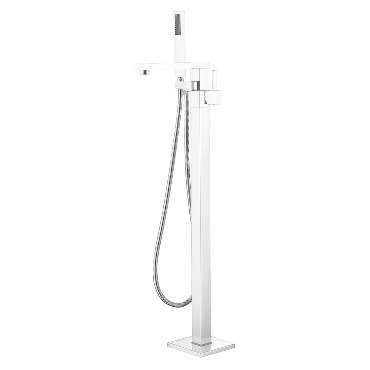 Shop SevenFalls 8011 Freestanding Bathtub Faucet With Hand Shower   On Sale    Free Shipping Today   Overstock.com   21031864