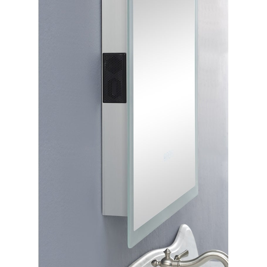 smartLED Illuminated Fog-Free Bathroom Mirror with Built-In ...