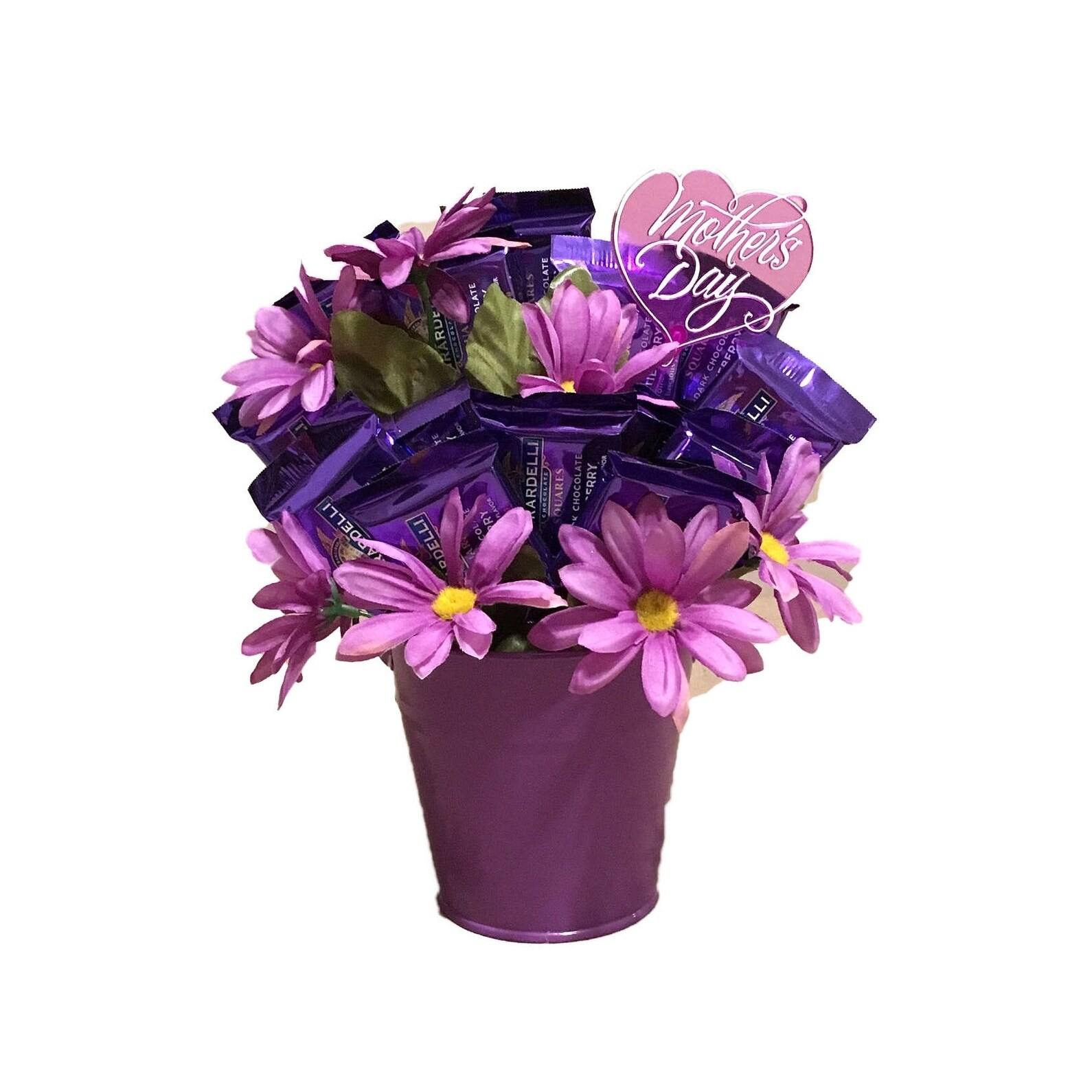 Shop Lavender Ghiradelli Mothers Day Candy Bouquet Free Shipping