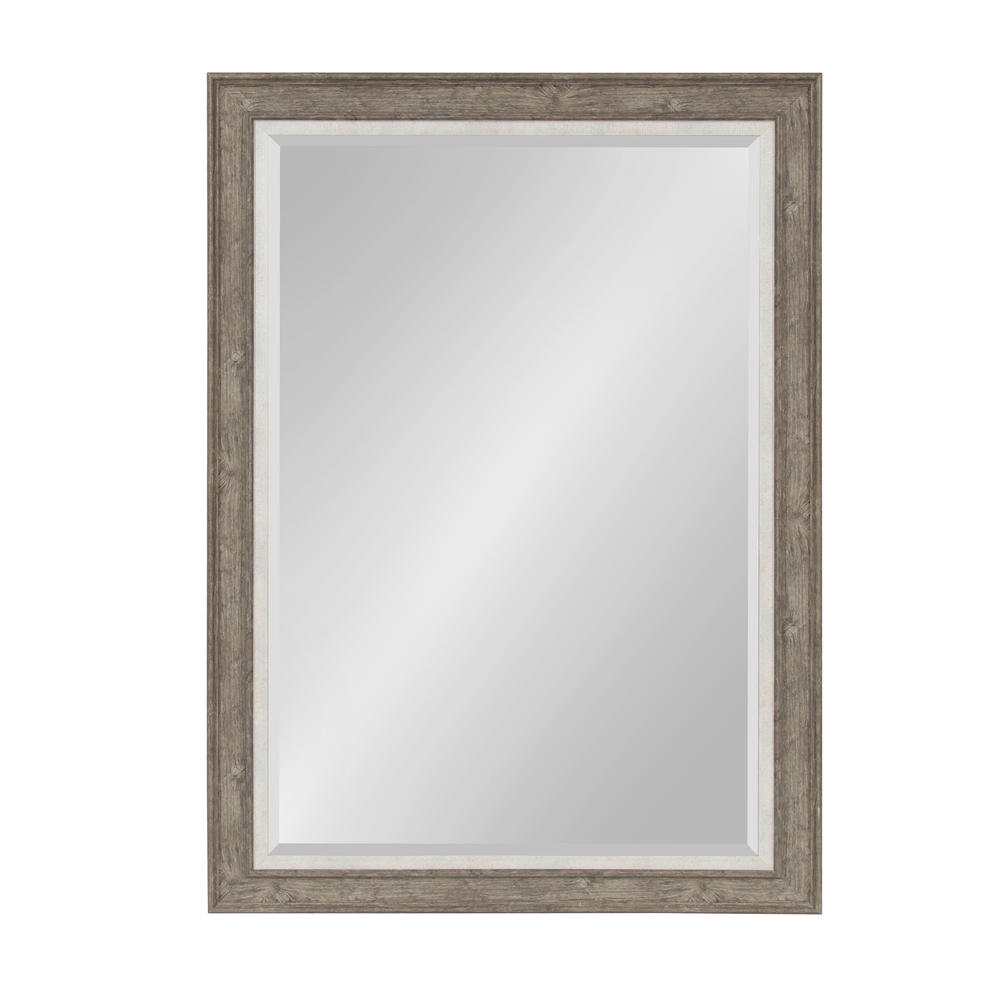 Shop Kate and Laurel - Woodway Large Framed Wall Mirror - rustic ...