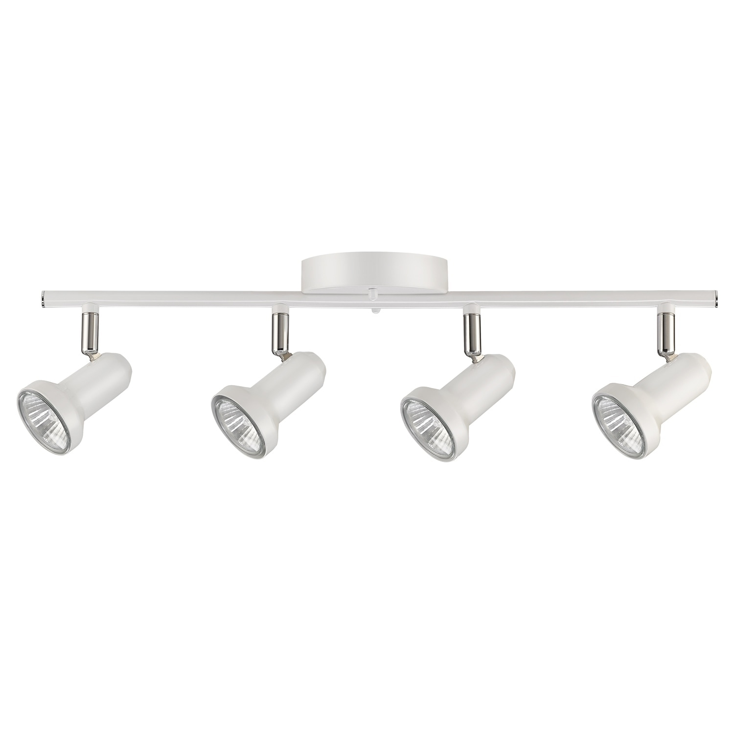 Melo 4-Light Track Lighting Glossy White Finish Bulbs Included - Free Shipping Today - Overstock - 26908605  sc 1 st  Overstock.com & Melo 4-Light Track Lighting Glossy White Finish Bulbs Included ...