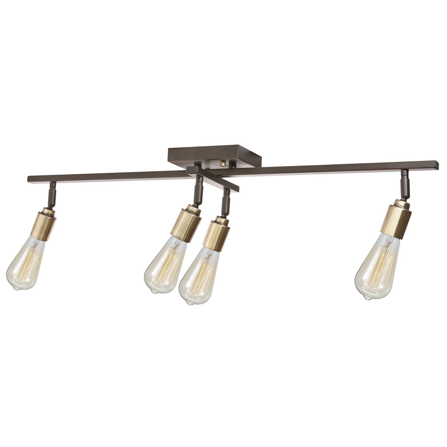 Shop Radcliffe 4-Light Track Light Oil Rubbed Bronze Bulbs Included - Free Shipping Today - Overstock.com - 21130074  sc 1 st  Overstock.com & Shop Radcliffe 4-Light Track Light Oil Rubbed Bronze Bulbs ...