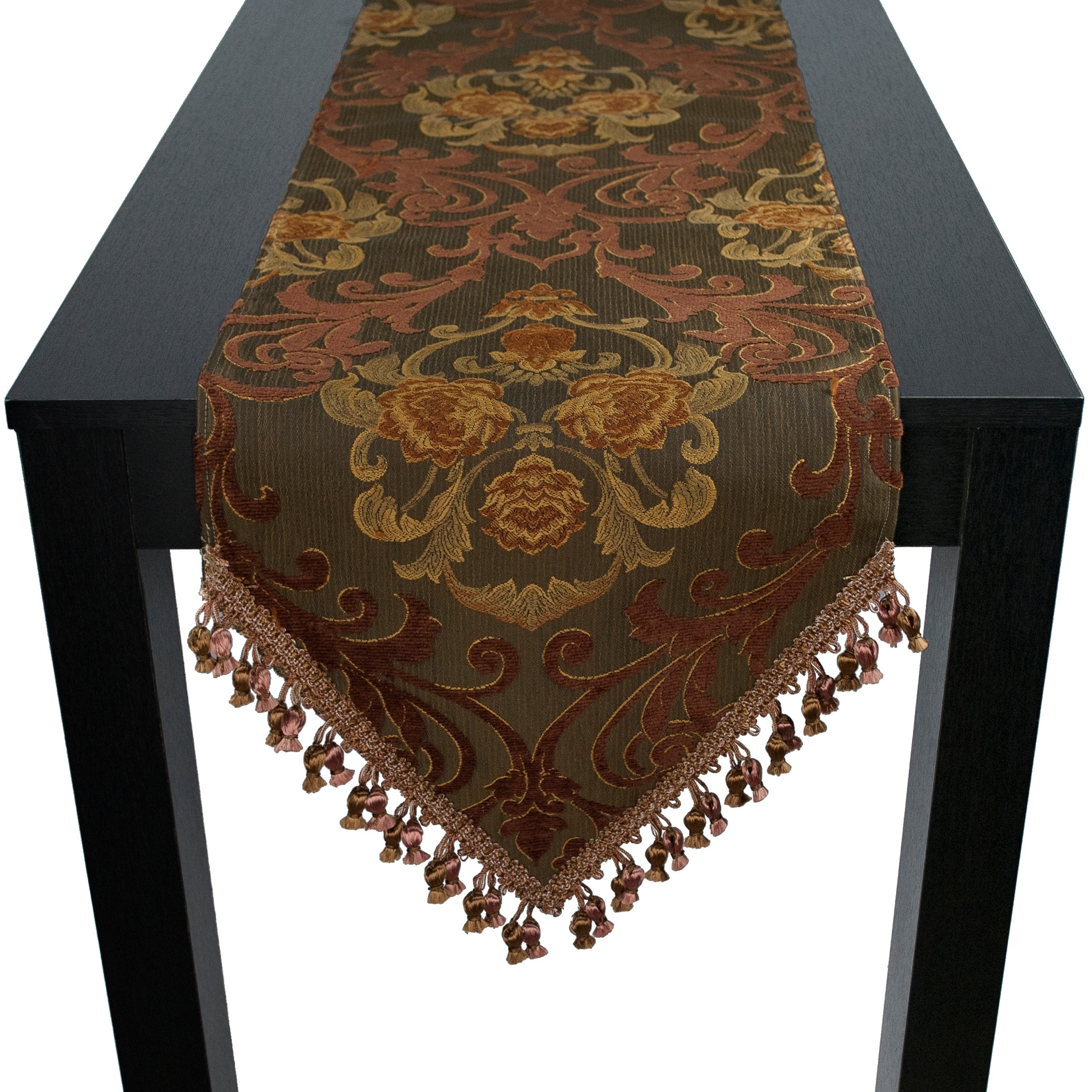 Shop Sherry Kline Anderson 72 Inch Luxury Table Runner.   12 X 72   Free  Shipping Today   Overstock   21133439