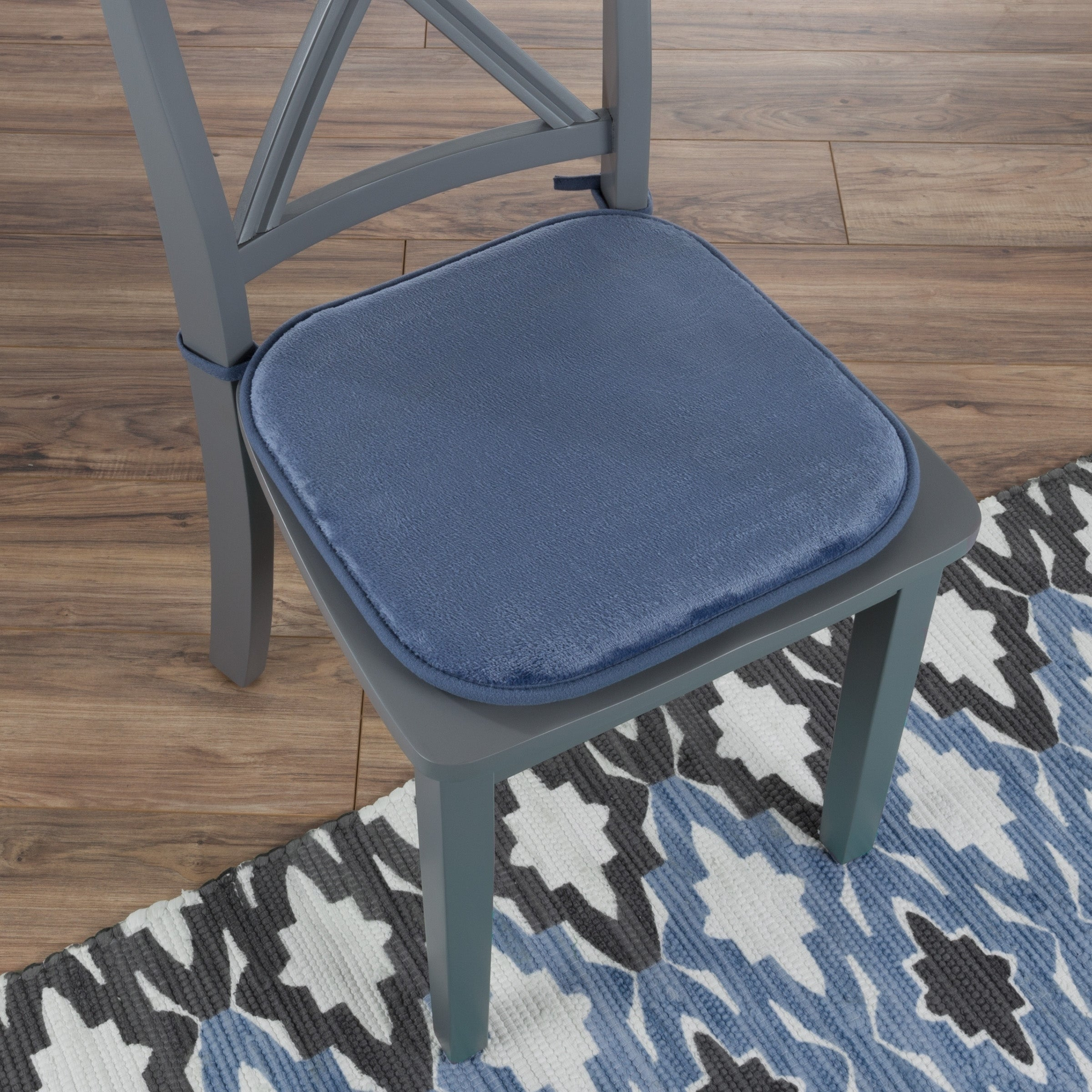 Memory Foam Chair Cushion 16x 1625 With Ties By Windsor Home