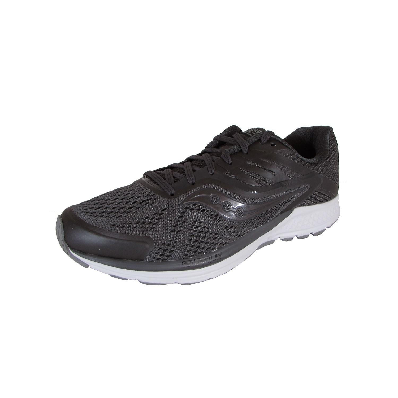 size 40 dcb8b 6db6e Saucony Mens Ride 10 Running Sneaker Shoes, Gunmetal