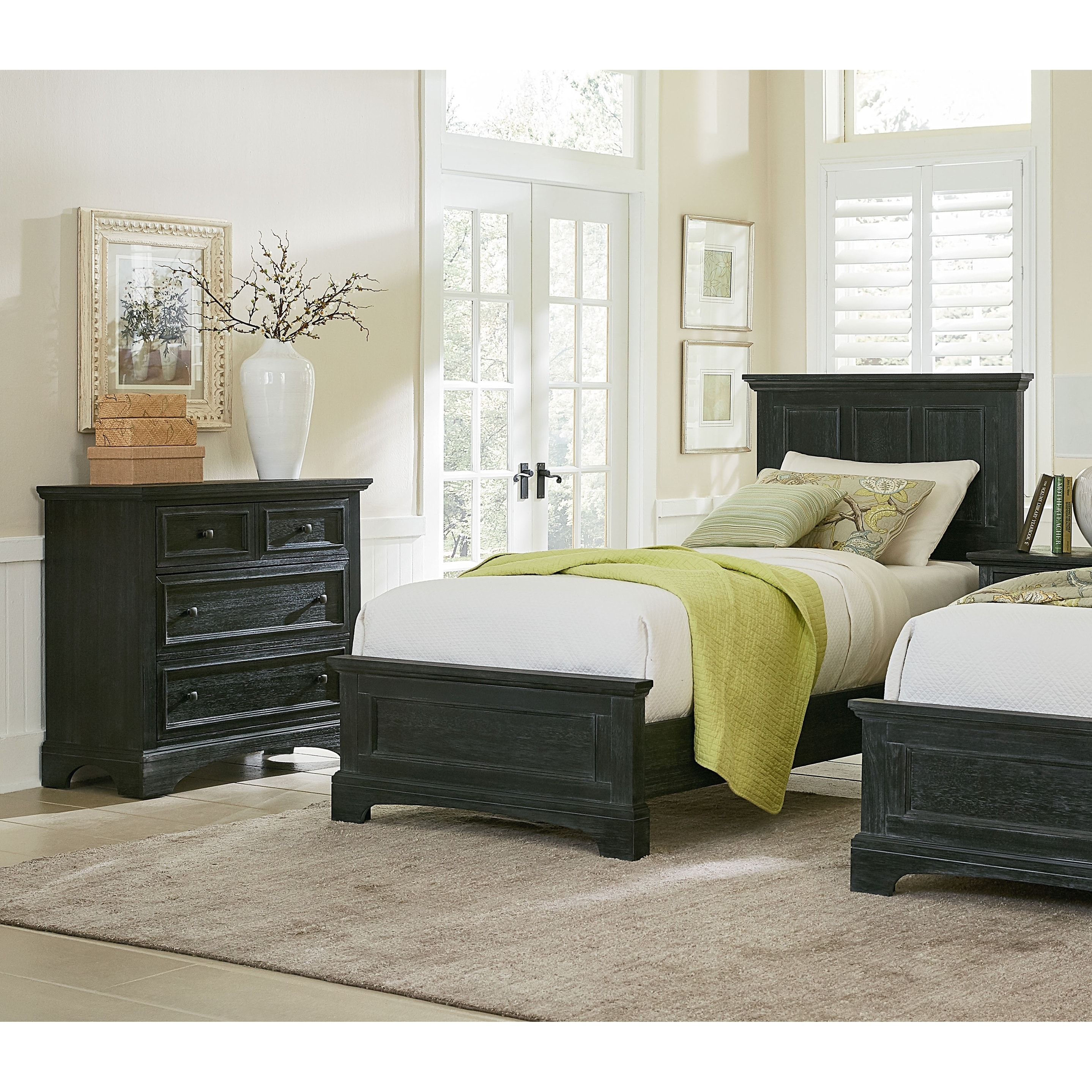 shop inspired by bassett farmhouse basics twin bedroom set with