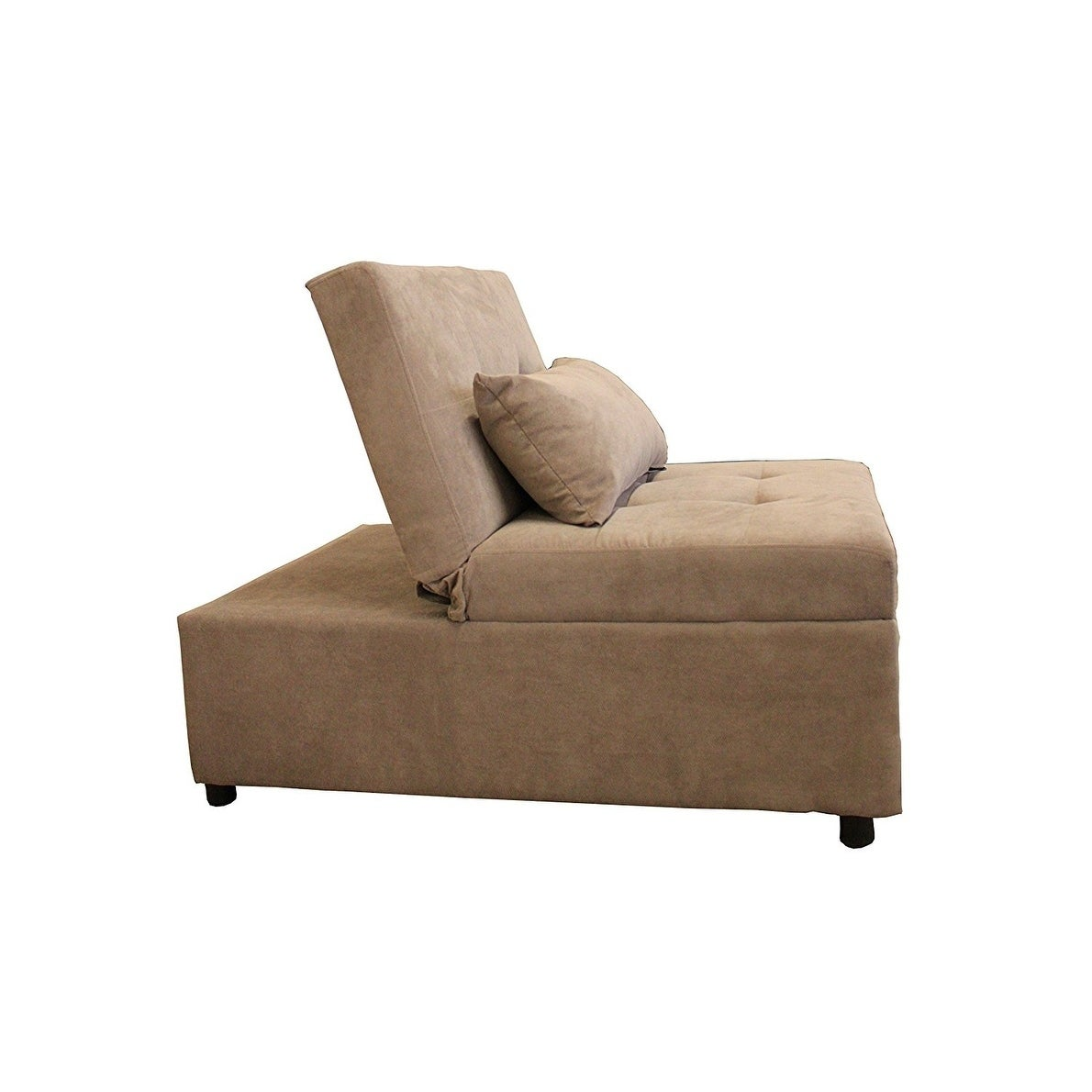 Shop Mini Max Decor Modern 2 In 1 Pullout Sofa   On Sale   Free Shipping  Today   Overstock.com   21158549