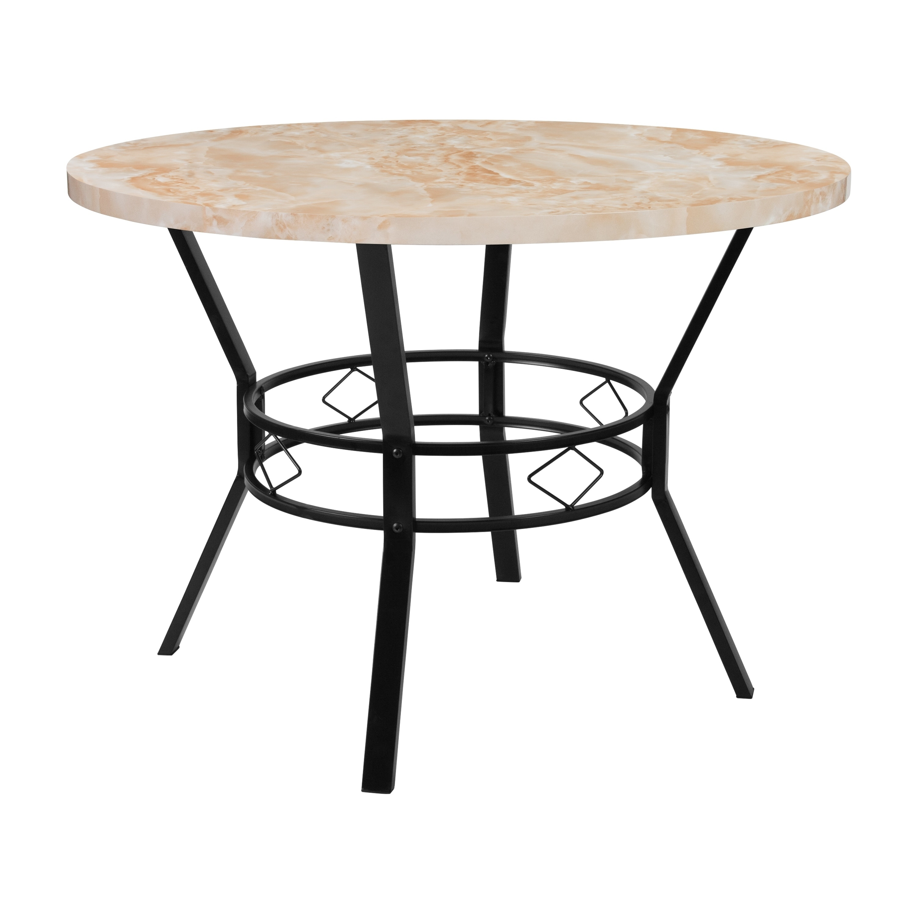Shop tremont 42 round dining table free shipping today overstock com 21159636