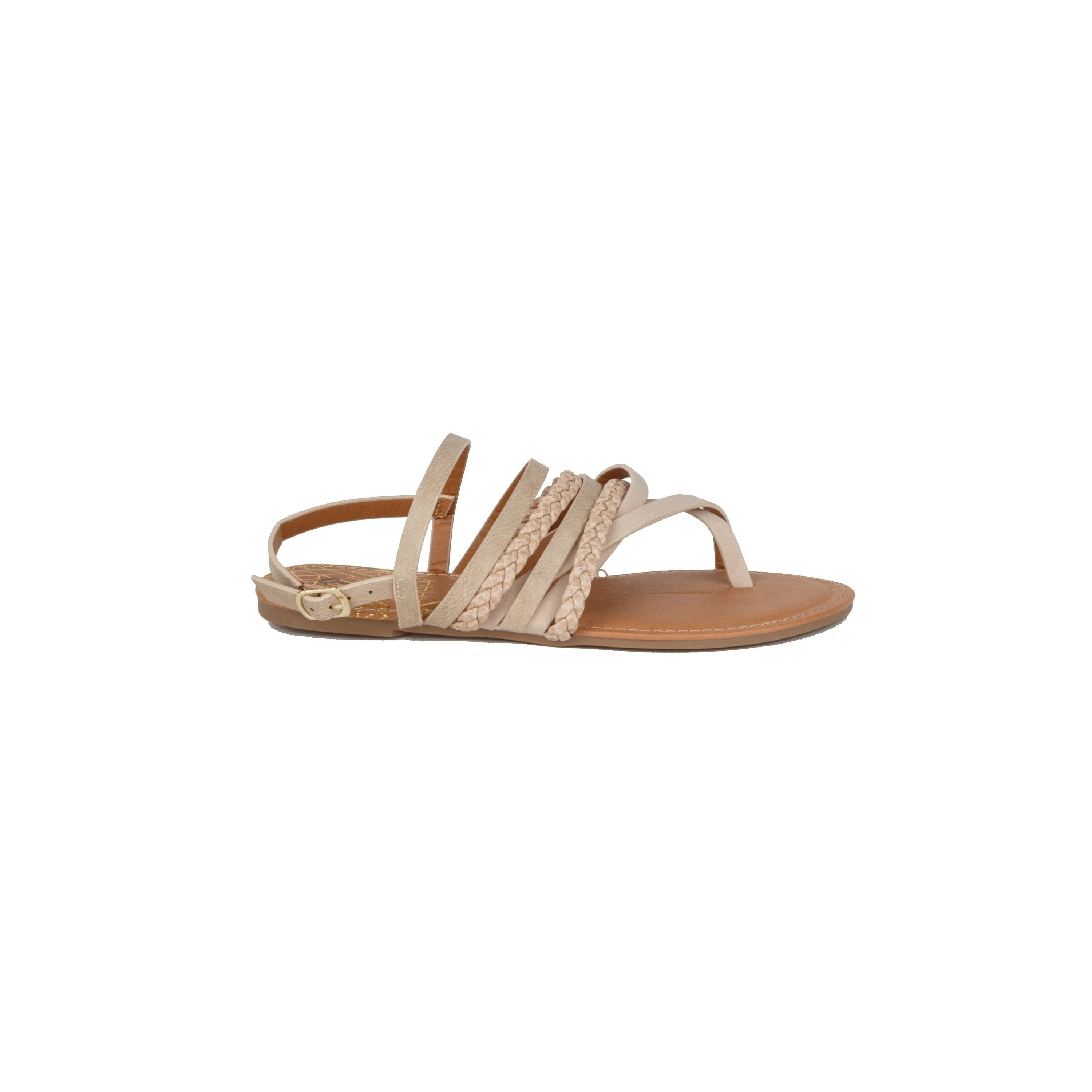 977b69280 Shop Xehar Womens Fashion Ankle Strap Strappy Beach Summer Flat Sandal -  Free Shipping On Orders Over  45 - Overstock - 21164660