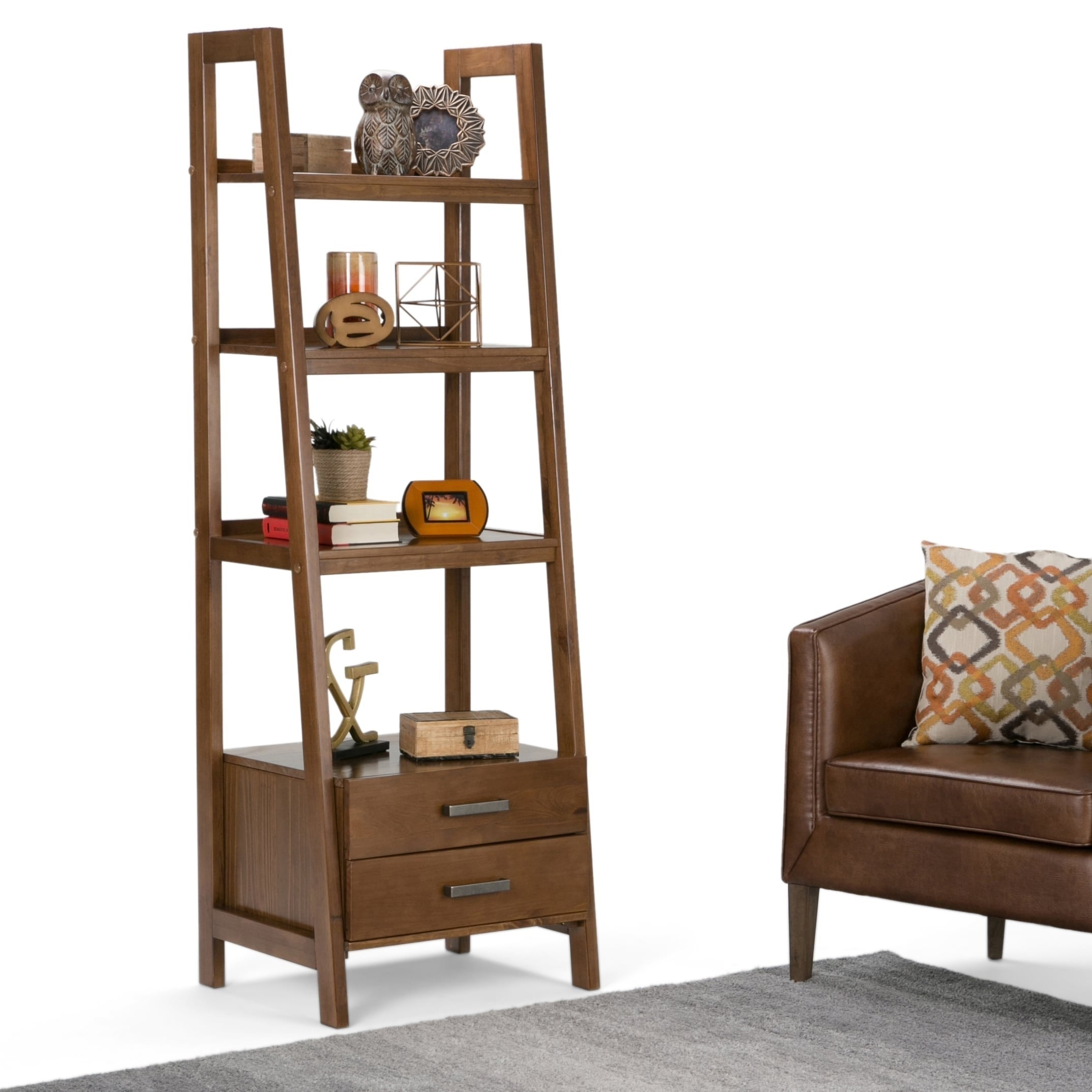 Wyndenhall Hawkins Ladder Storage Shelf  Free Shipping Today