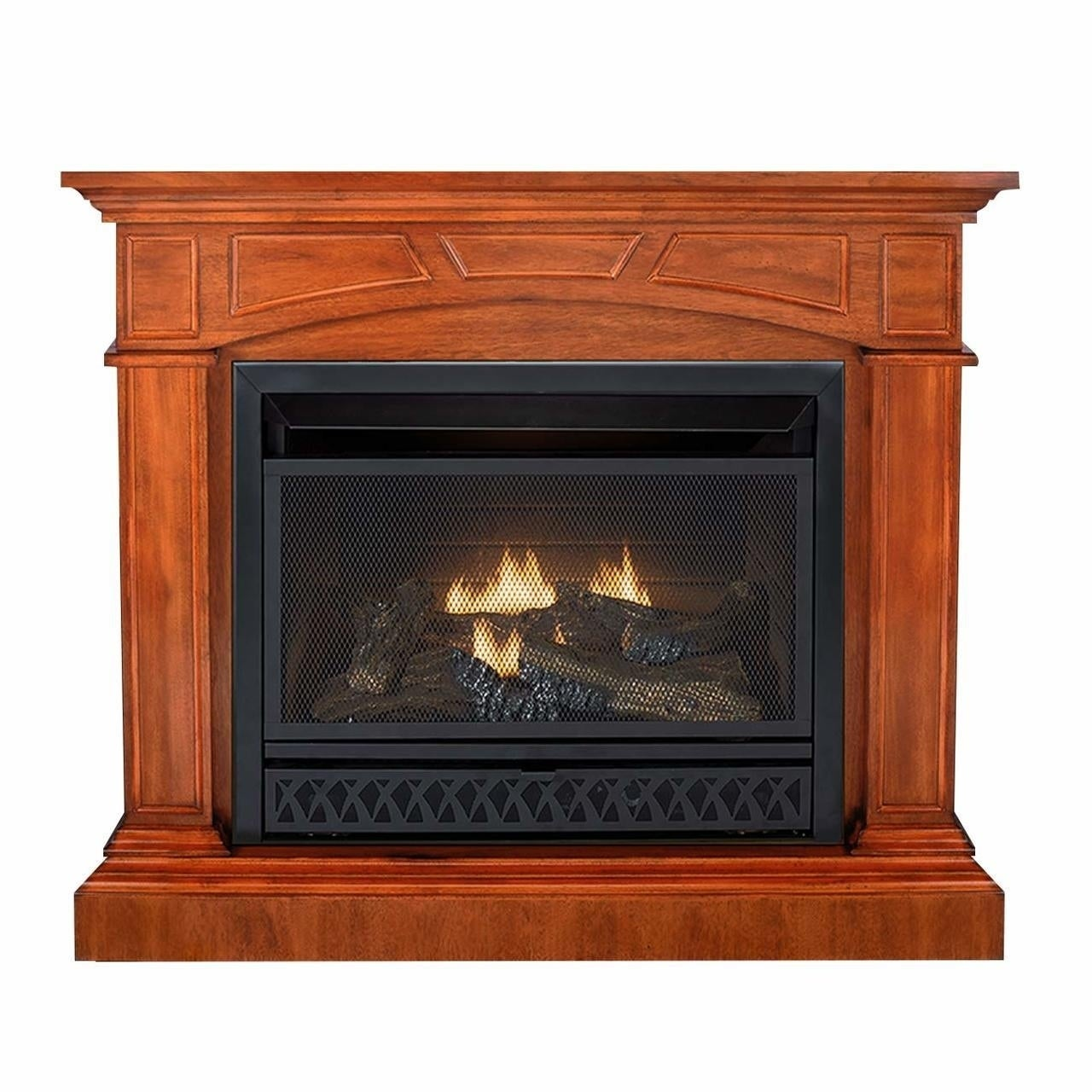 Shop Duluth Forge Dual Fuel Ventless Gas Fireplace 26 000 Btu T