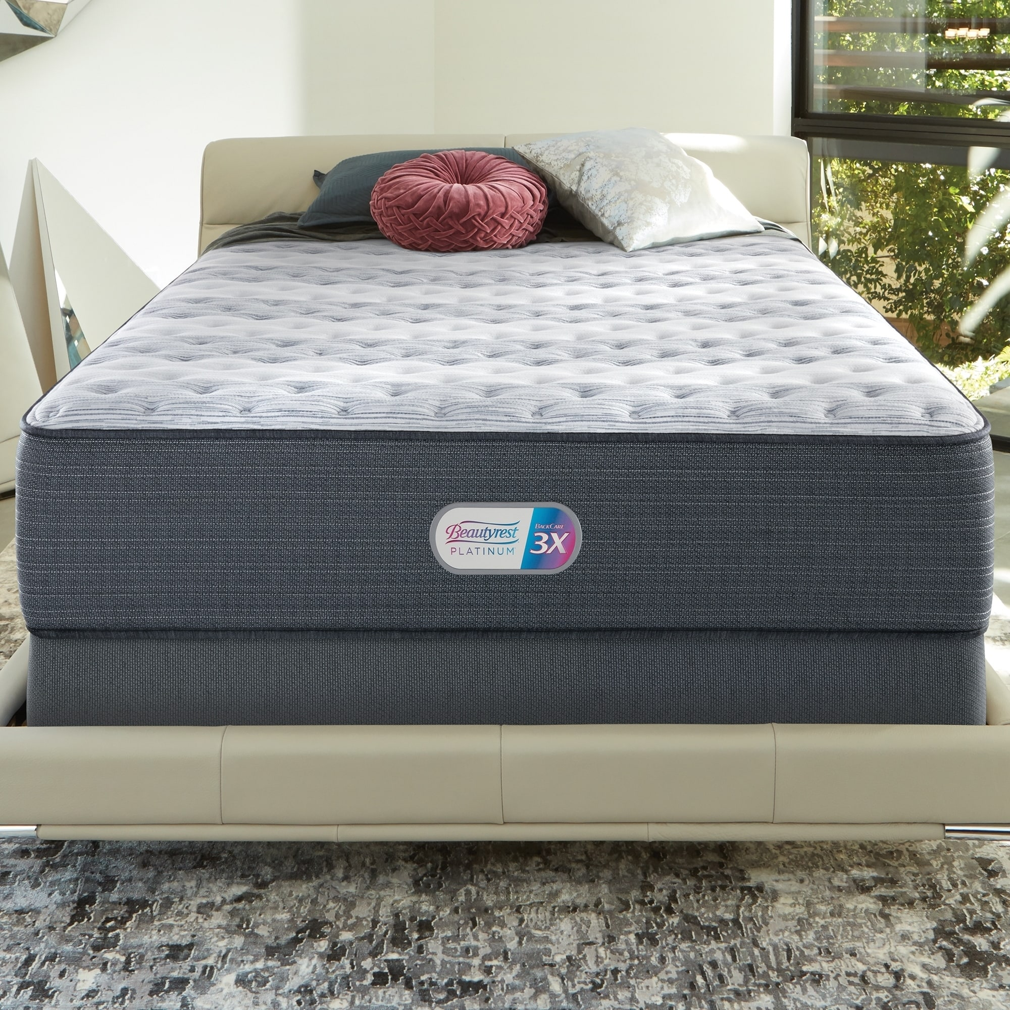 Shop Beautyrest Platinum Haven Pines 14 inch Extra Firm Full size