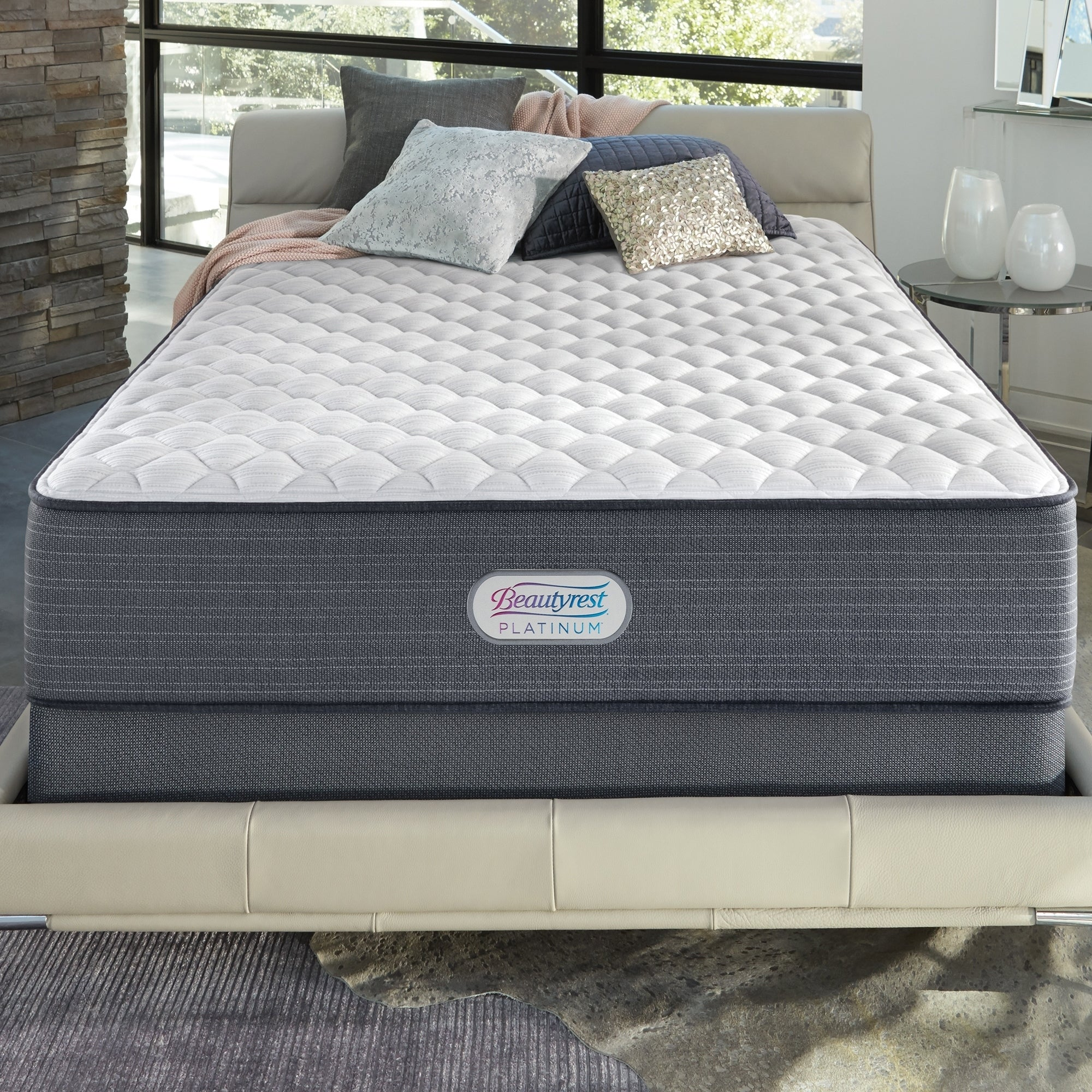 Shop Beautyrest Platinum Spring Grove 13 inch Extra Firm Full size