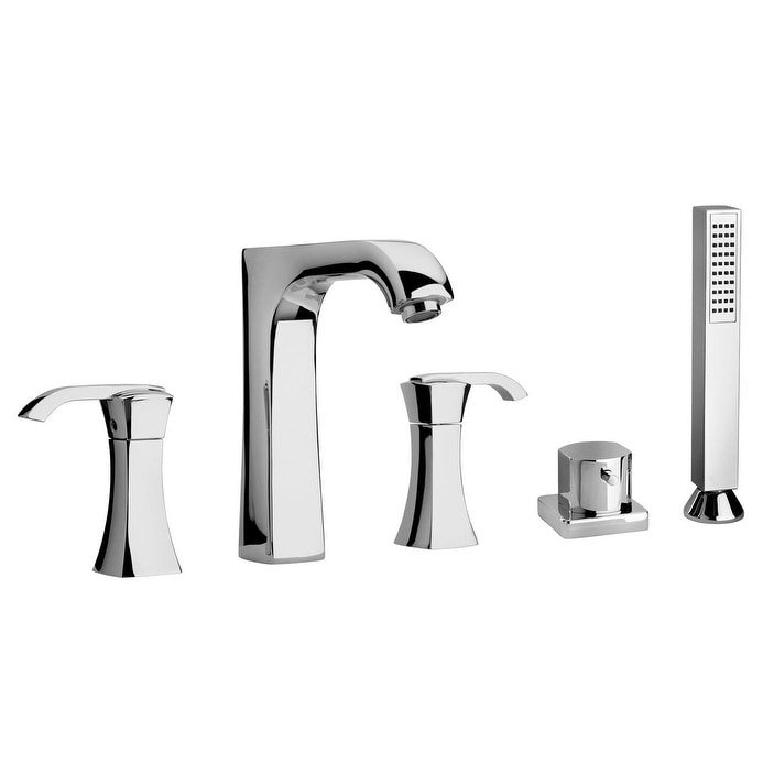 LaToscana Lady Roman Tub With Diverter and Hand-Held Shower - Free ...
