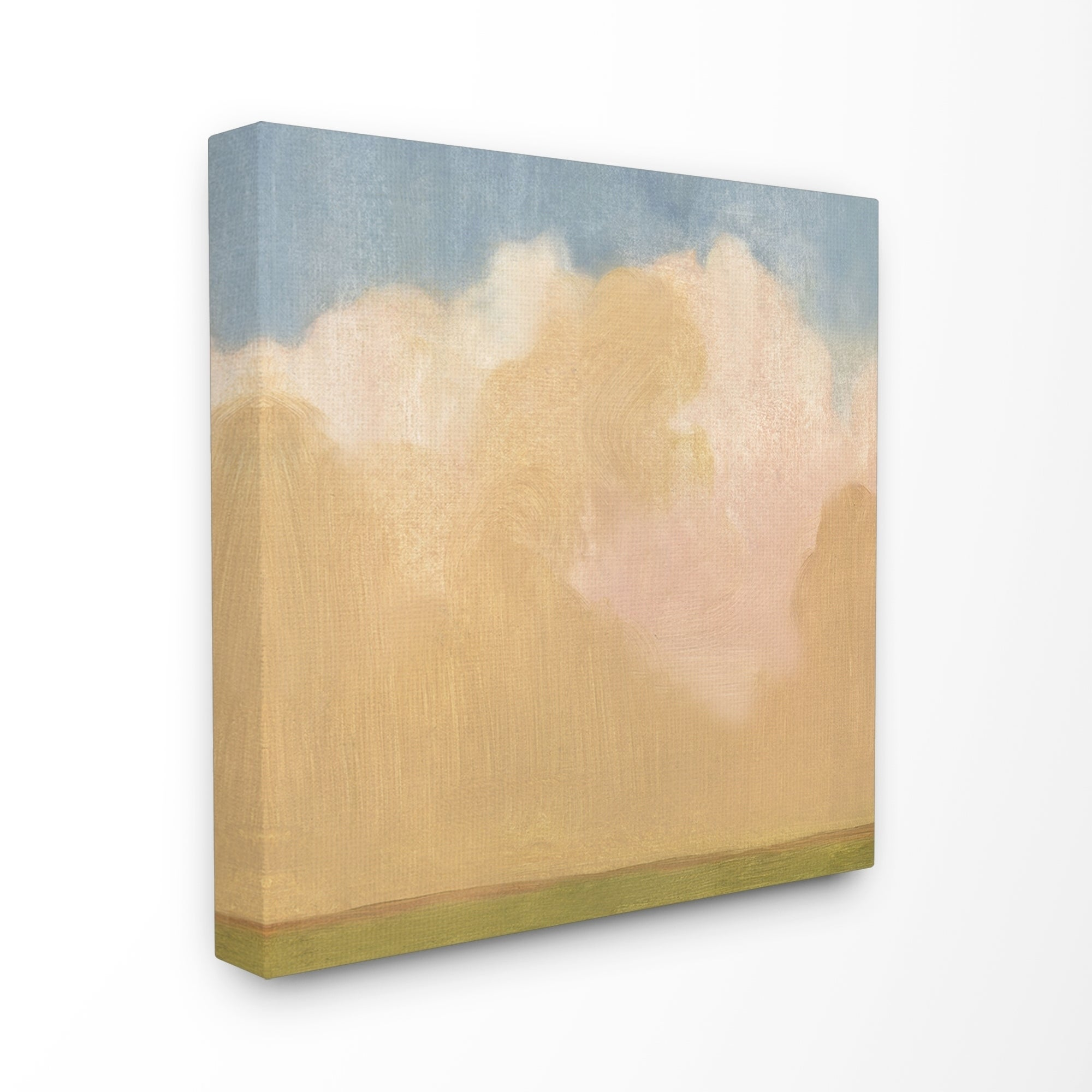 The Stupell Home Decor Collection Painted Fields Clouds Farm ...