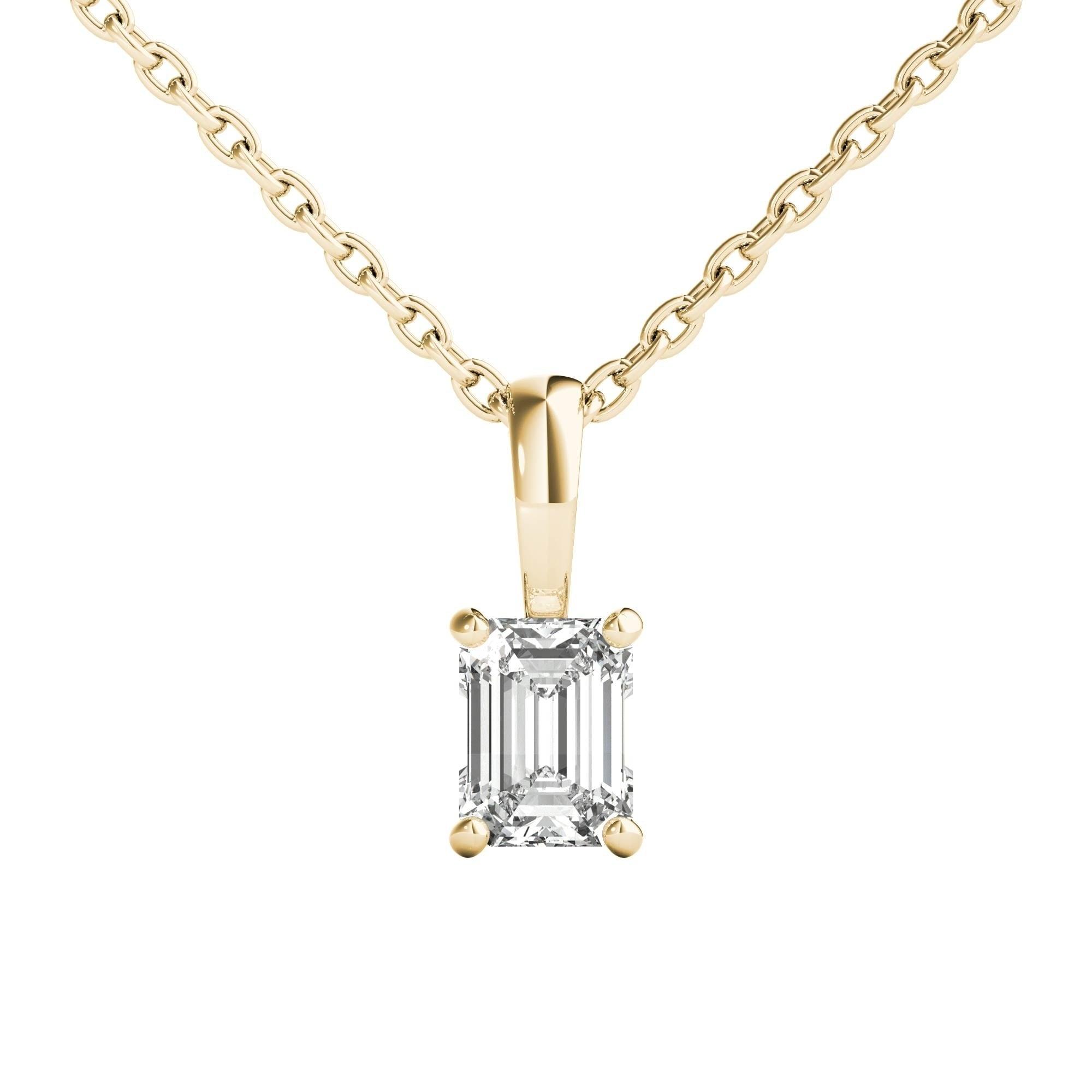 Seraphina 18k gold 030ct tdw emerald cut diamond pendant necklace seraphina 18k gold 030ct tdw emerald cut diamond pendant necklace free shipping today overstock 26975395 aloadofball Choice Image
