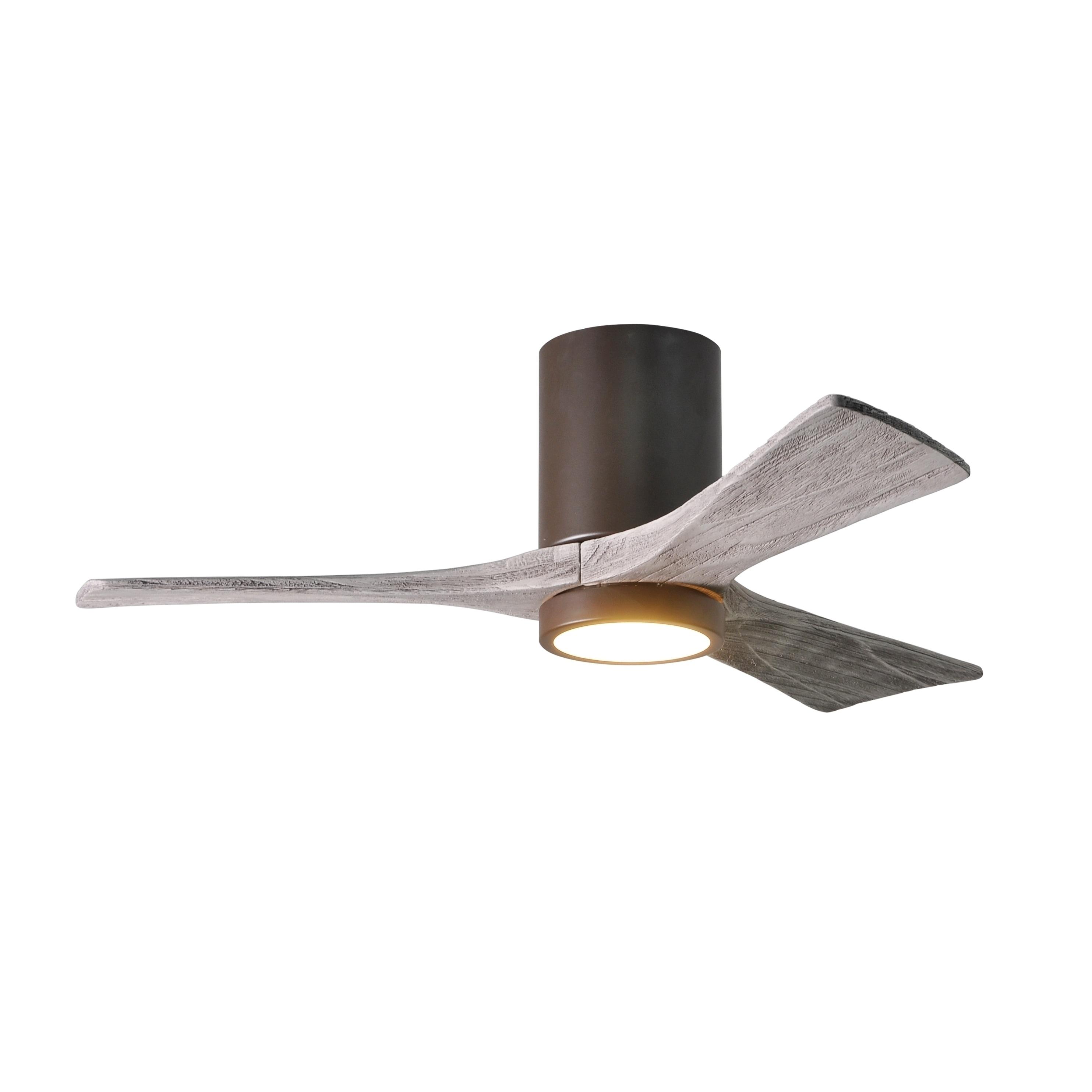 Shop Matthews Fan pany Irene HLK 3 blade 42 inch Textured Bronze