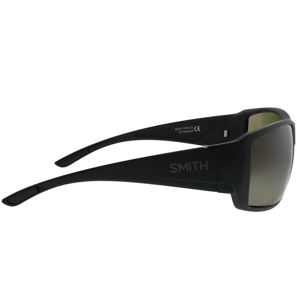 ad1b84f189 Shop Smith Wrap Guide s Choice DL5 L7 Unisex Matte Black Frame Green ChromaPop  Polarized Lens Sunglasses - Free Shipping Today - Overstock - 21212340