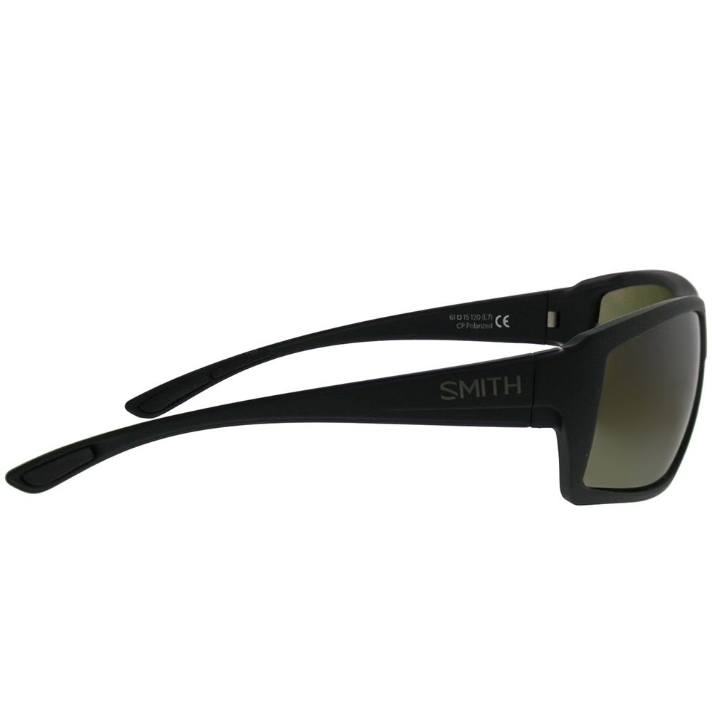 c4f5b5f0c6 Shop Smith Rectangle Challis DL5 L7 Unisex Matte Black Frame Green  ChromaPop Polarized Lens Sunglasses - On Sale - Free Shipping Today -  Overstock.com - ...