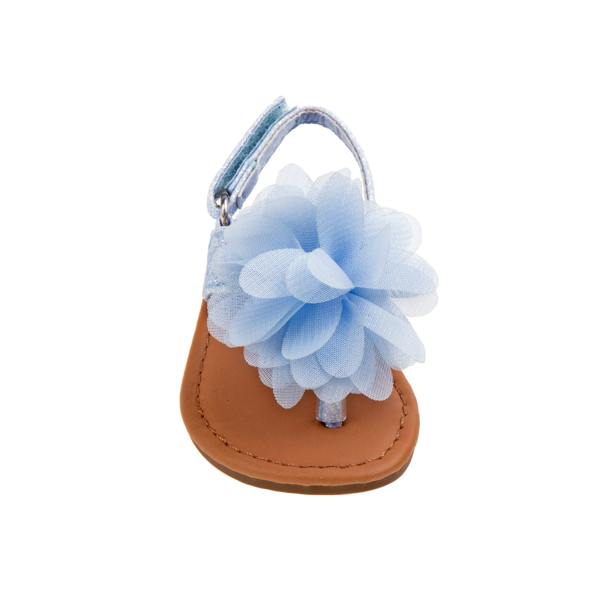 d87b797bc0765 Shop Laura Ashley Girl Toddler Thong Sandal - Free Shipping On Orders Over   45 - Overstock - 21217131
