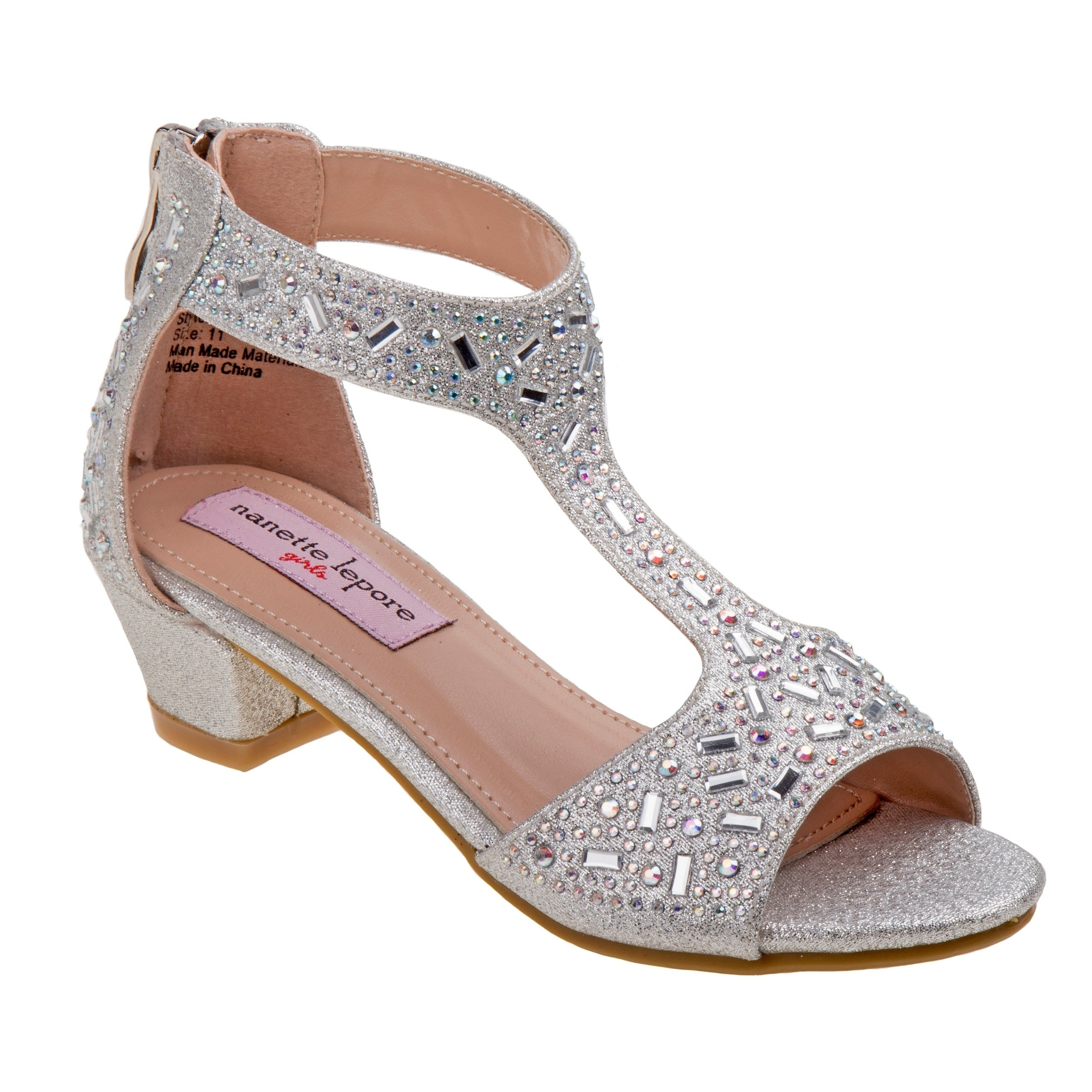 26f85a3c55b Shop Nanette Lepore Girl Dress Sandals - Free Shipping On Orders Over  45 -  Overstock - 21219381