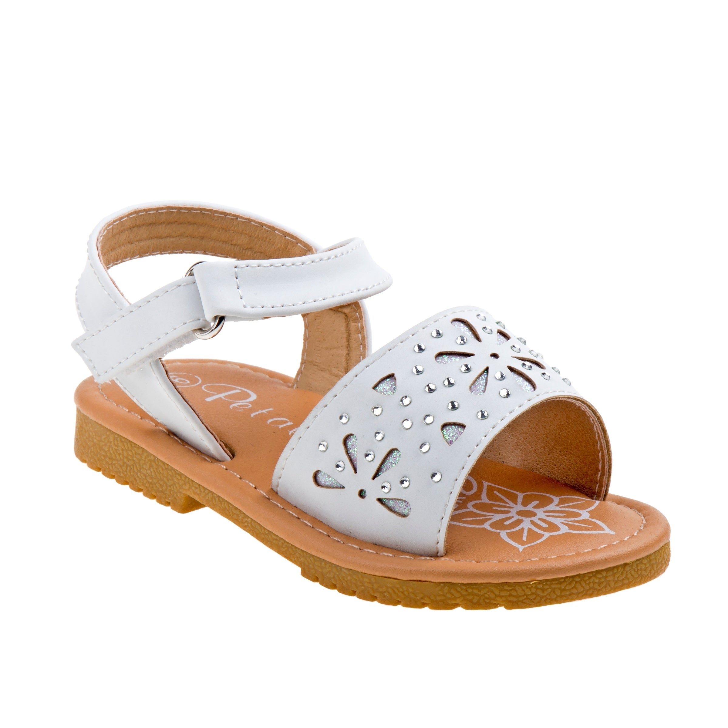 76fa2c446405 Shop Petalia Girl Toddler Sandals - Free Shipping On Orders Over  45 -  Overstock - 21219463