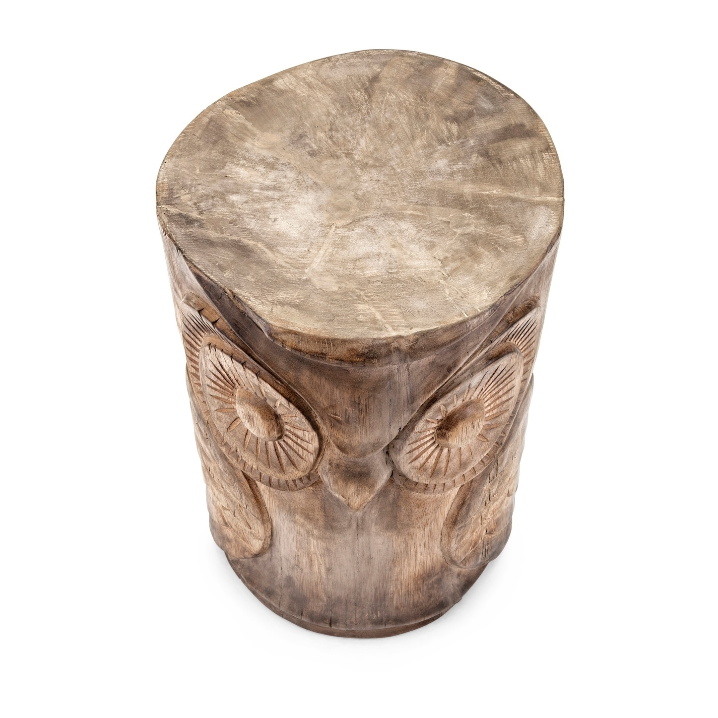 garden old caravan product owl stool today free home international overstock shipping ceramic wise