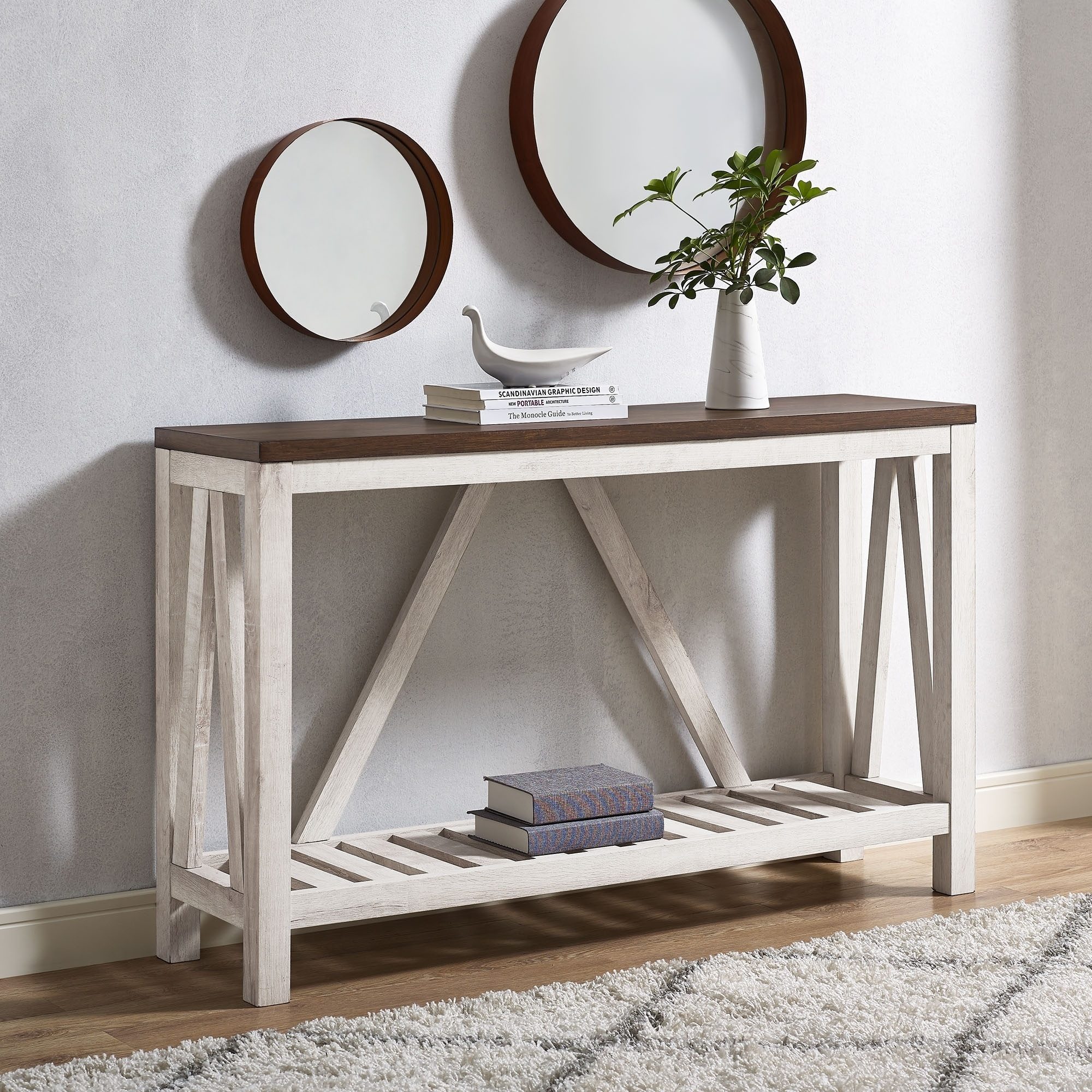 52 A Frame Entry Console Table X 14 32h