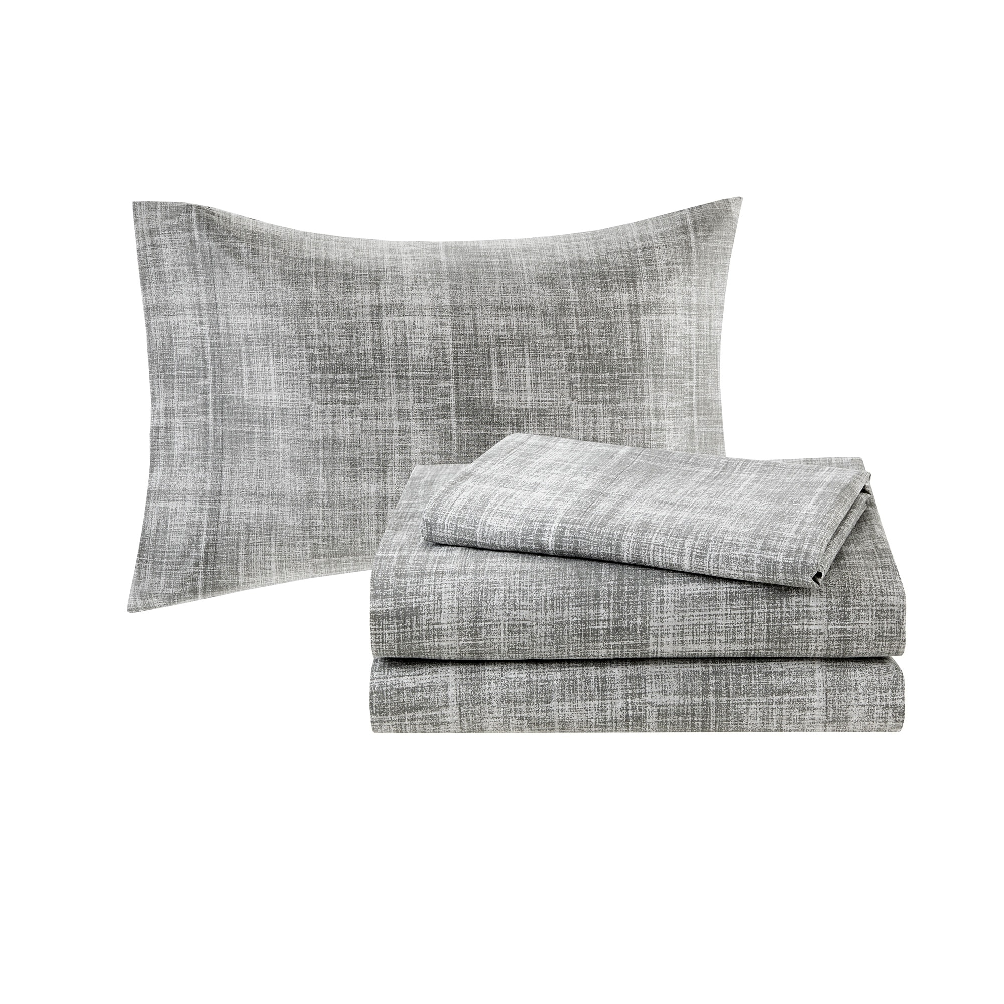 Madison Park Essentials Barret Complete Comforter And Cotton Sheet Set