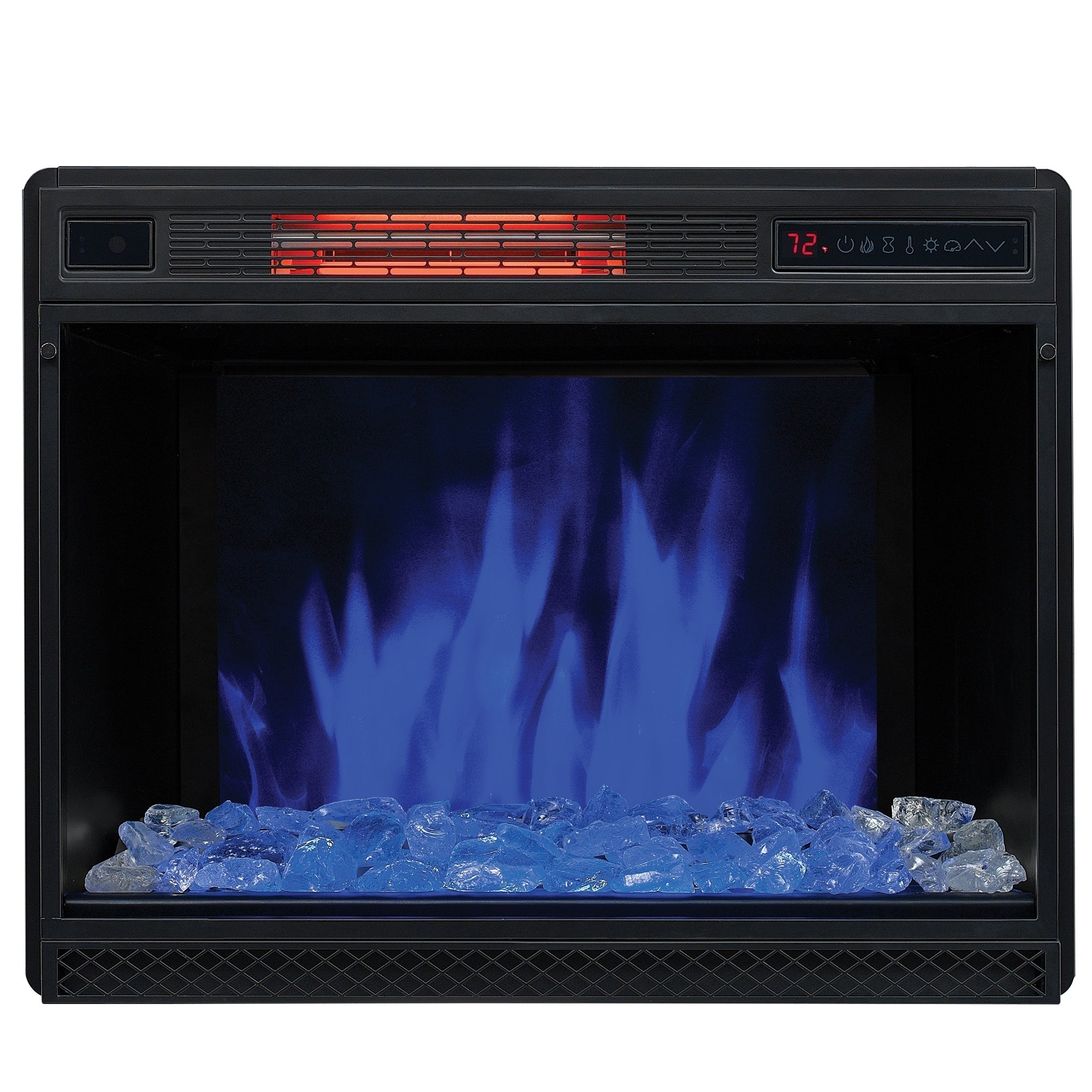 28 3d infrared quartz electric fireplace insert free shipping