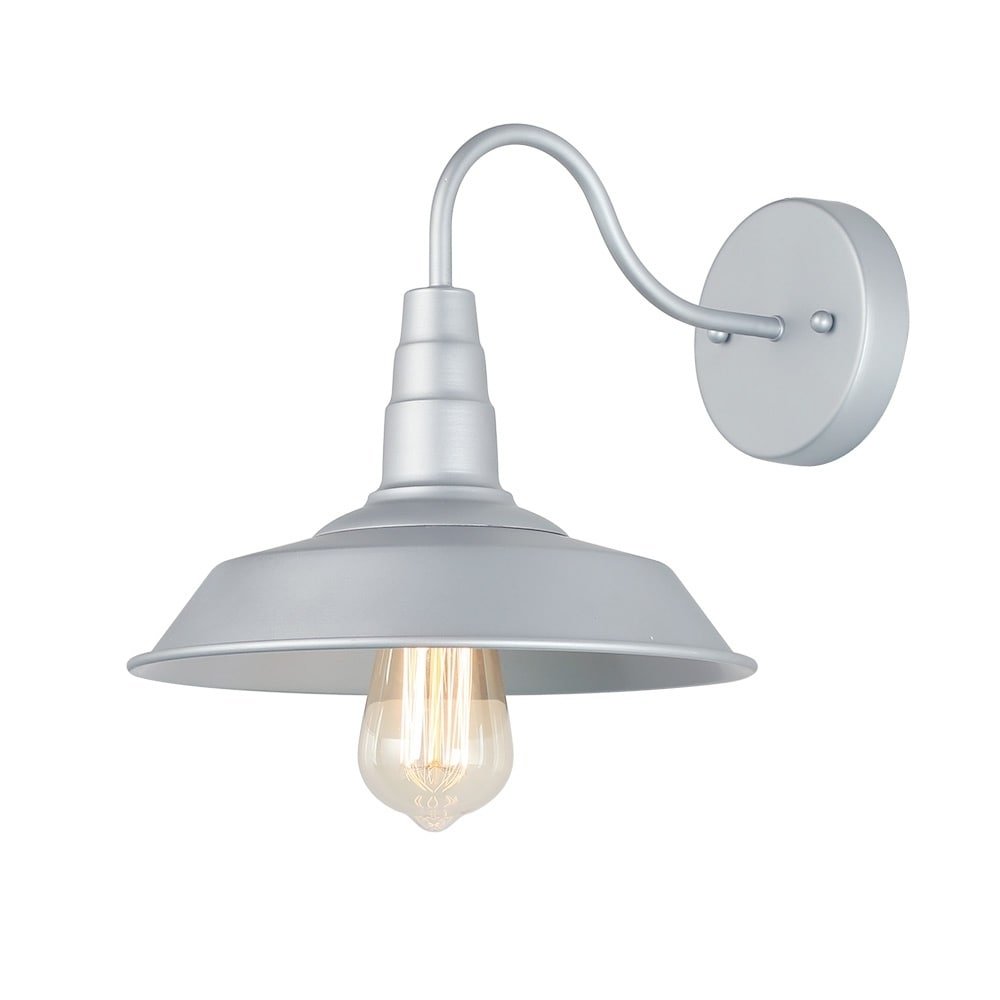 Lnc 1 light wall sconces silver wall lamps barn wall lights