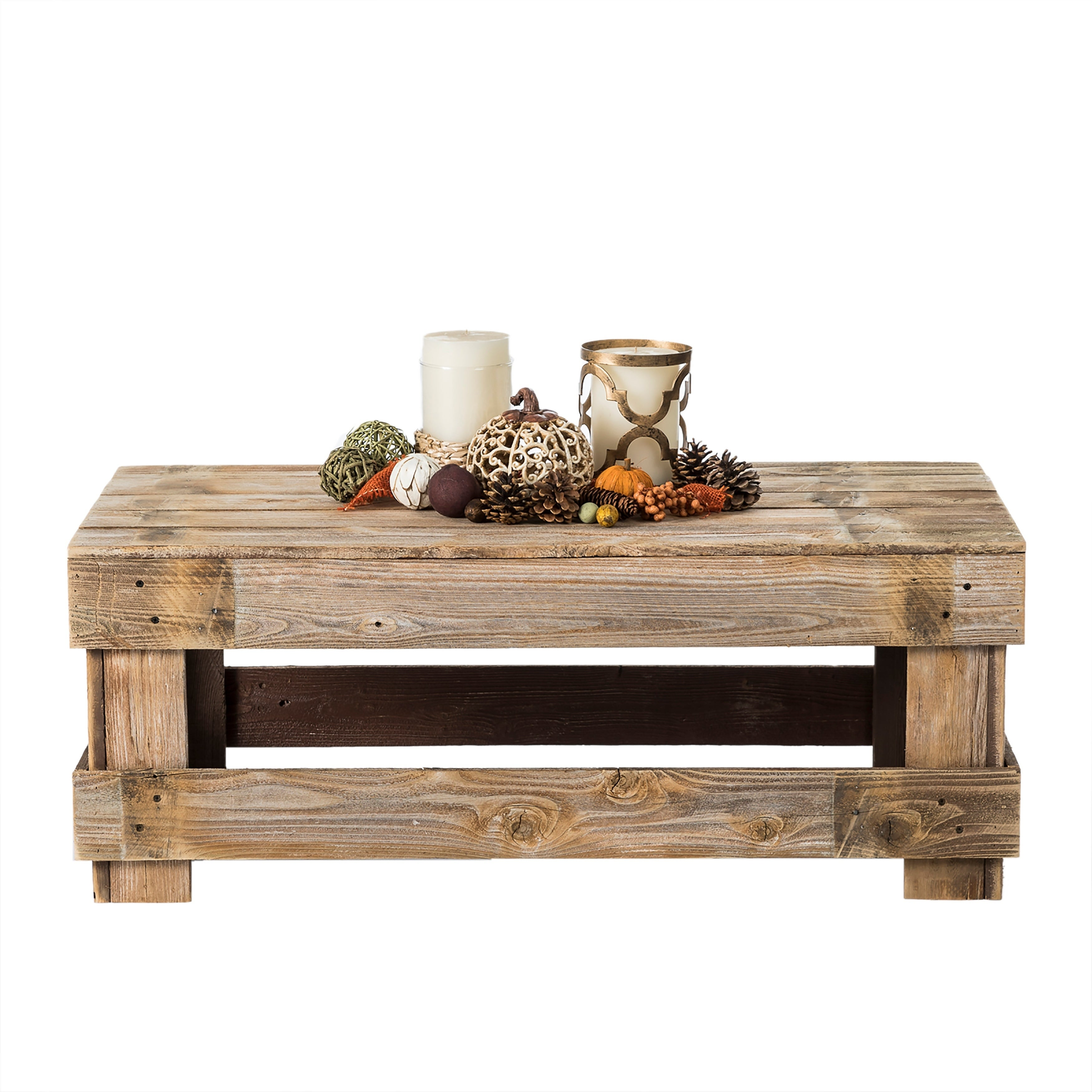 Incroyable Shop Del Hutson Designs Barnwood Coffee Table   On Sale   Free Shipping  Today   Overstock.com   21275140