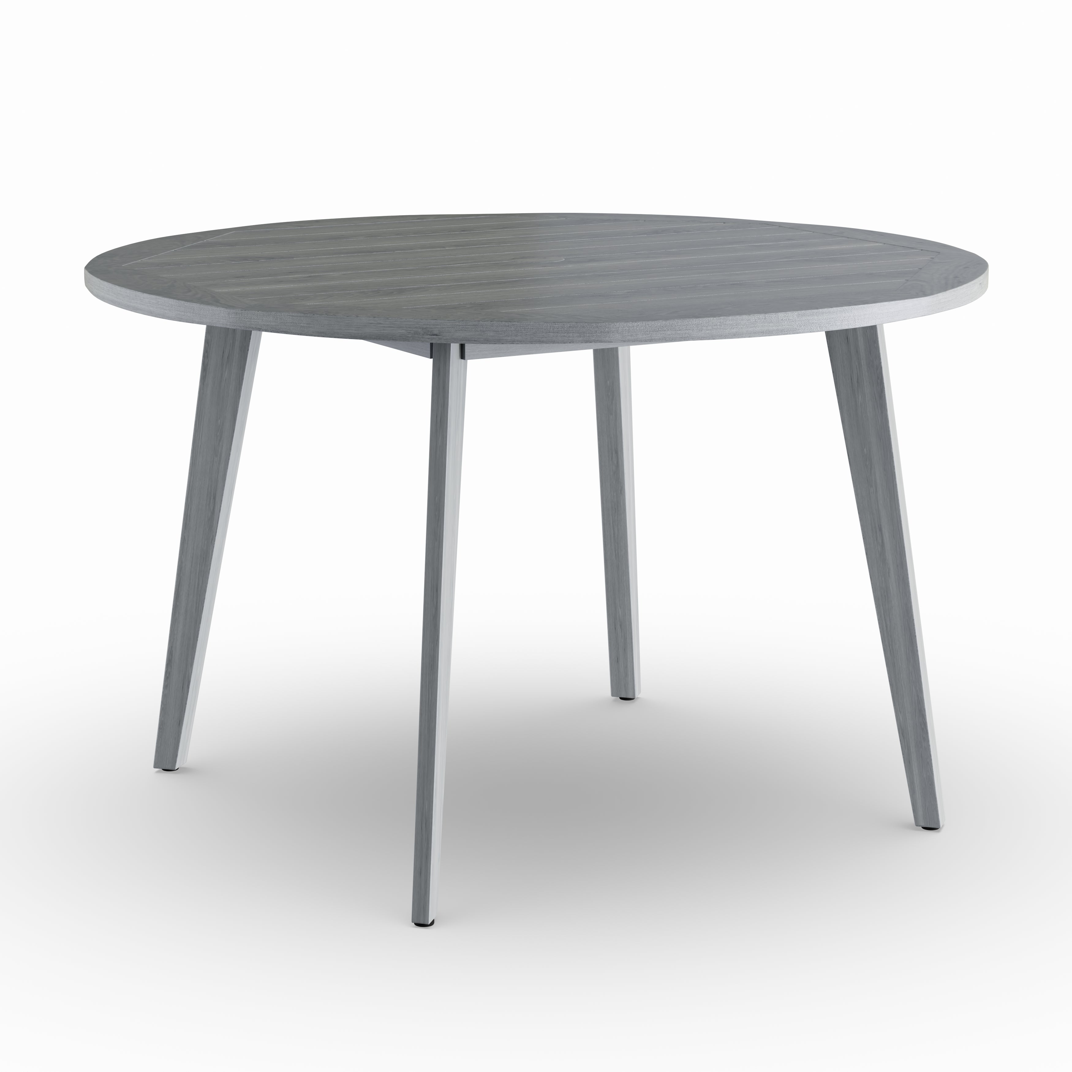 Shop Havenside Home Mamaroneck Grey Teak Outdoor Dining Table With