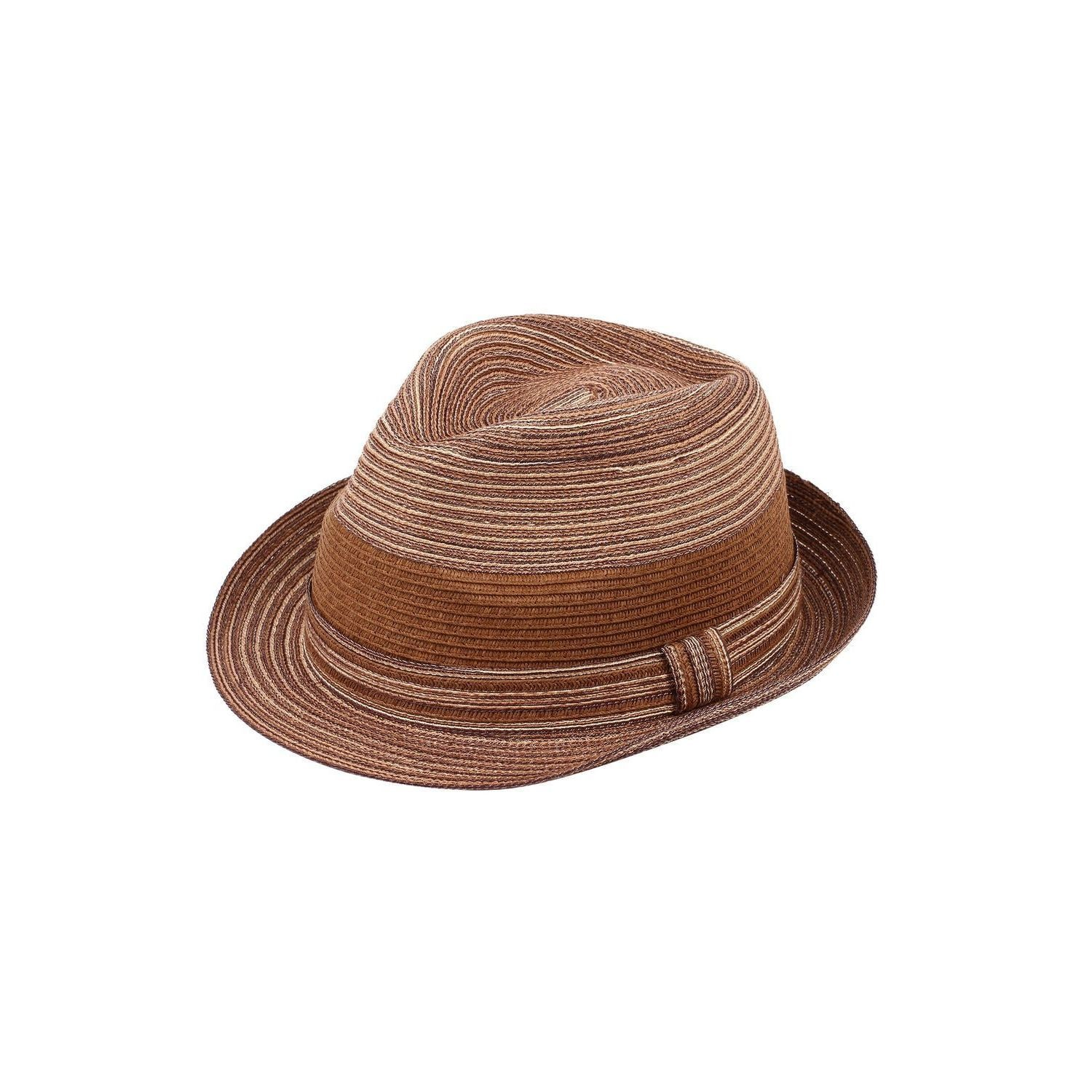 bdc6b3505b93b4 Shop Zodaca Women's Sun Styles Rosie Ladies Modern Trilby Fedora Hat Beach  Adjustable Foldable Sun Hats (14 Colors Available) - Free Shipping On  Orders Over ...