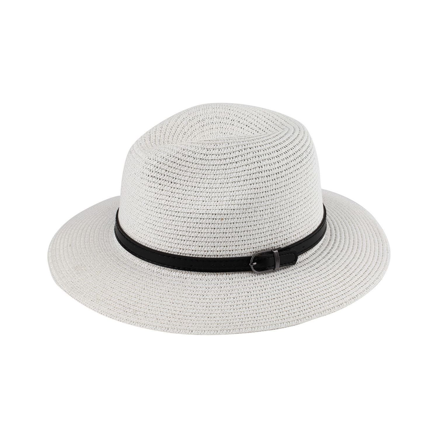 d7c8f7182be Zodaca Women s Sun Styles Marla Ladies Fedora Style Sun Hat Adjustable  Foldable Beach Hat (12 Colors Available)