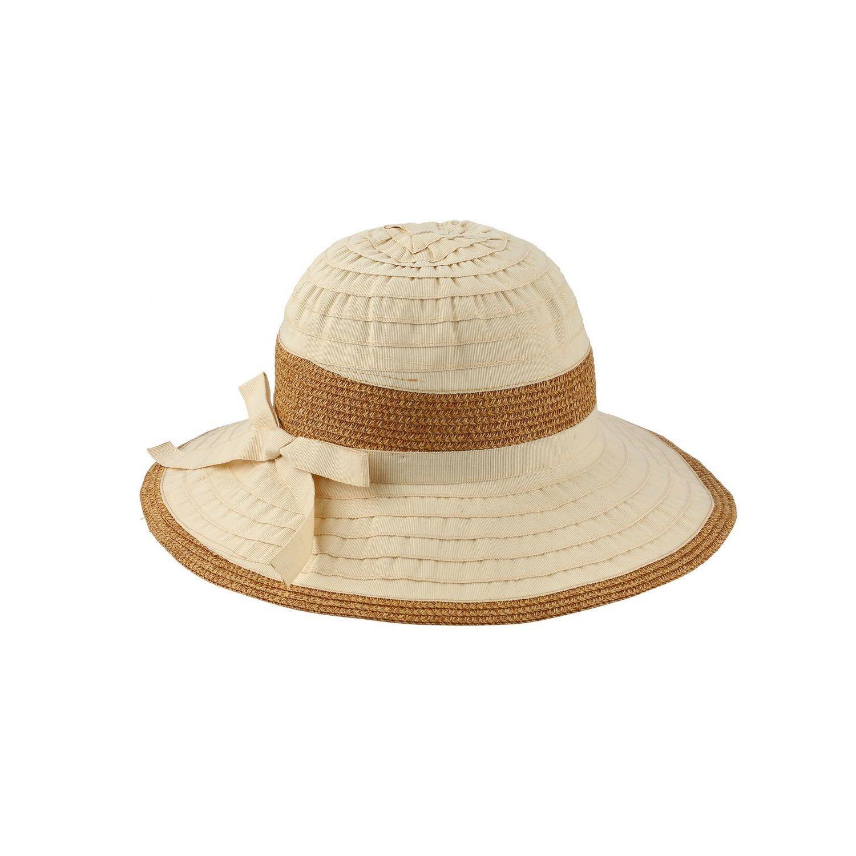 e5cff5423af Zodaca Women's Sun Styles Karol Ladies Packable Foldable Adjustable Sun Hat  (10 Colors Available)