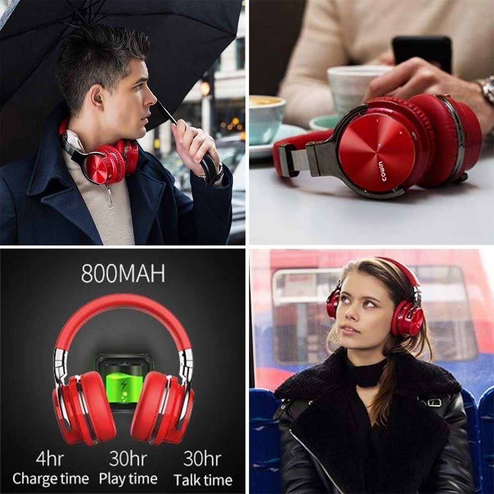 COWIN E7 Pro Active Noise Cancelling Bluetooth Headphone Deep Bass