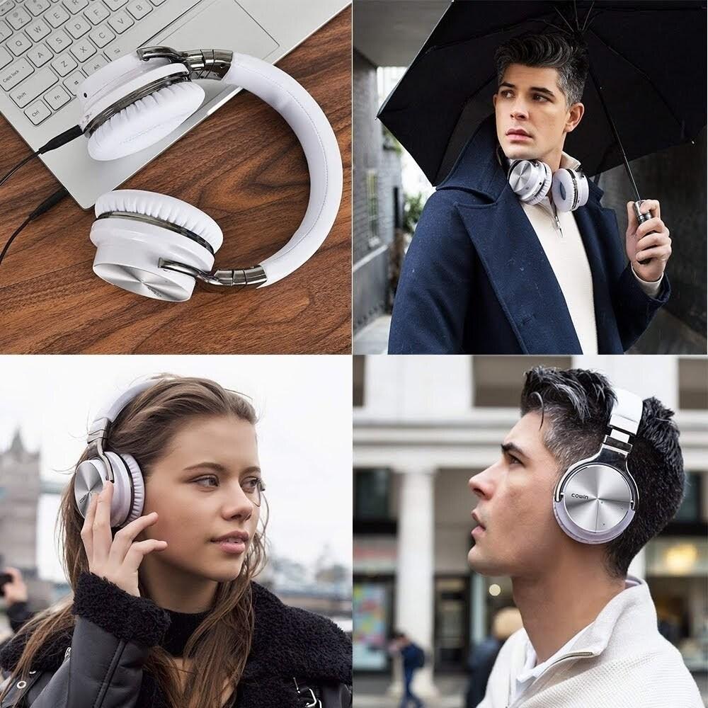 COWIN E7 Pro Active Noise Cancelling Bluetooth Headphone Deep Bass