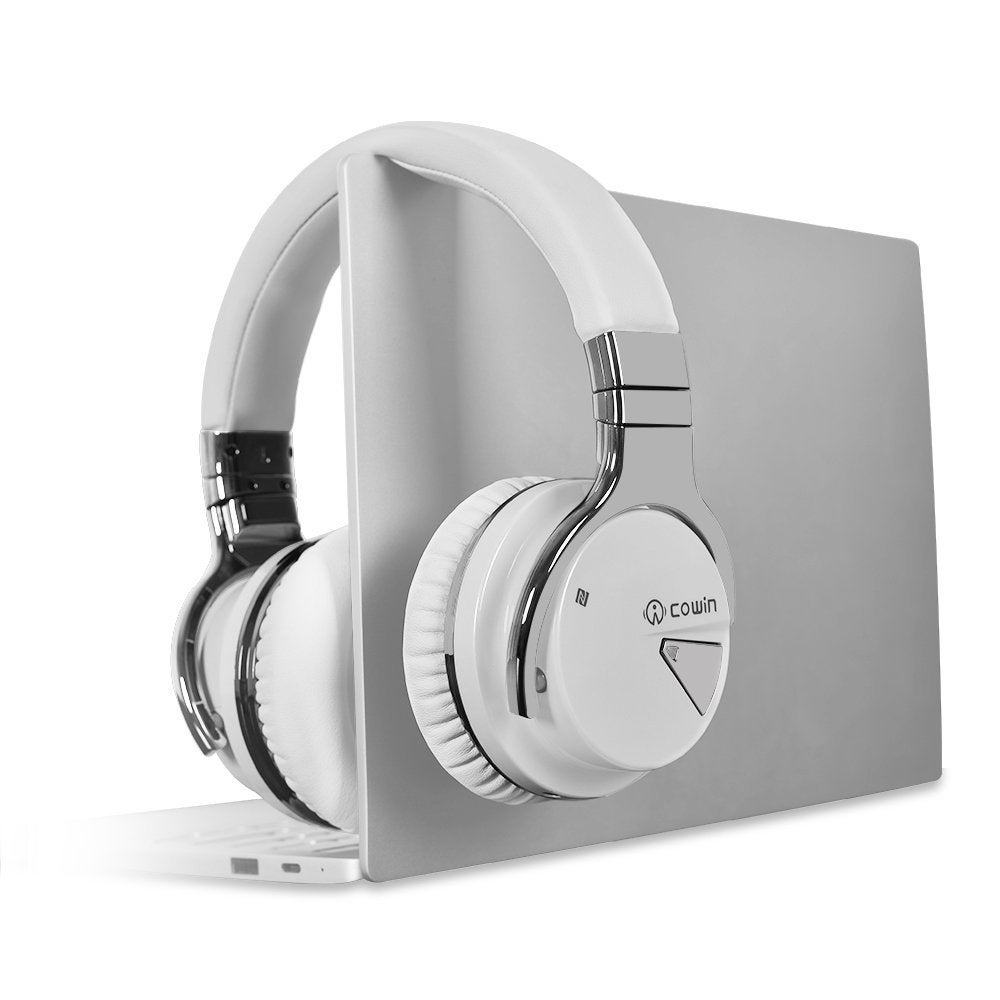 2d99f4ef8de Shop Cowin E7 Active Noise Cancelling Bluetooth Over-Ear Headphones with  Microphone, Hi-Fi Deep Bass - Free Shipping Today - Overstock - 21295180